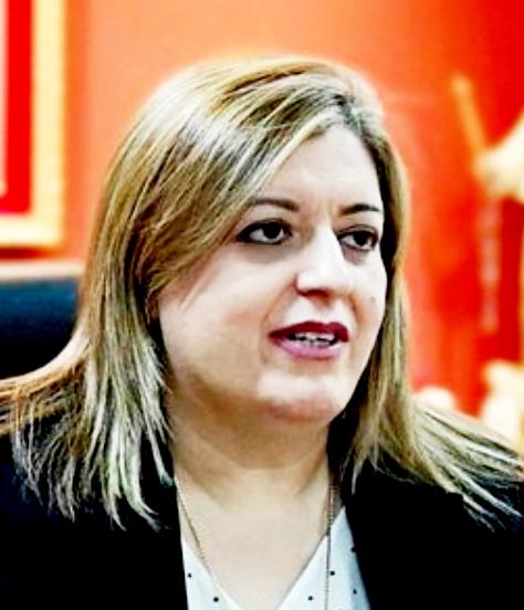 Sandra Quiñónez, fiscala general del Estado, que tiene la obligación constitucional de velar por intereses de la sociedad.