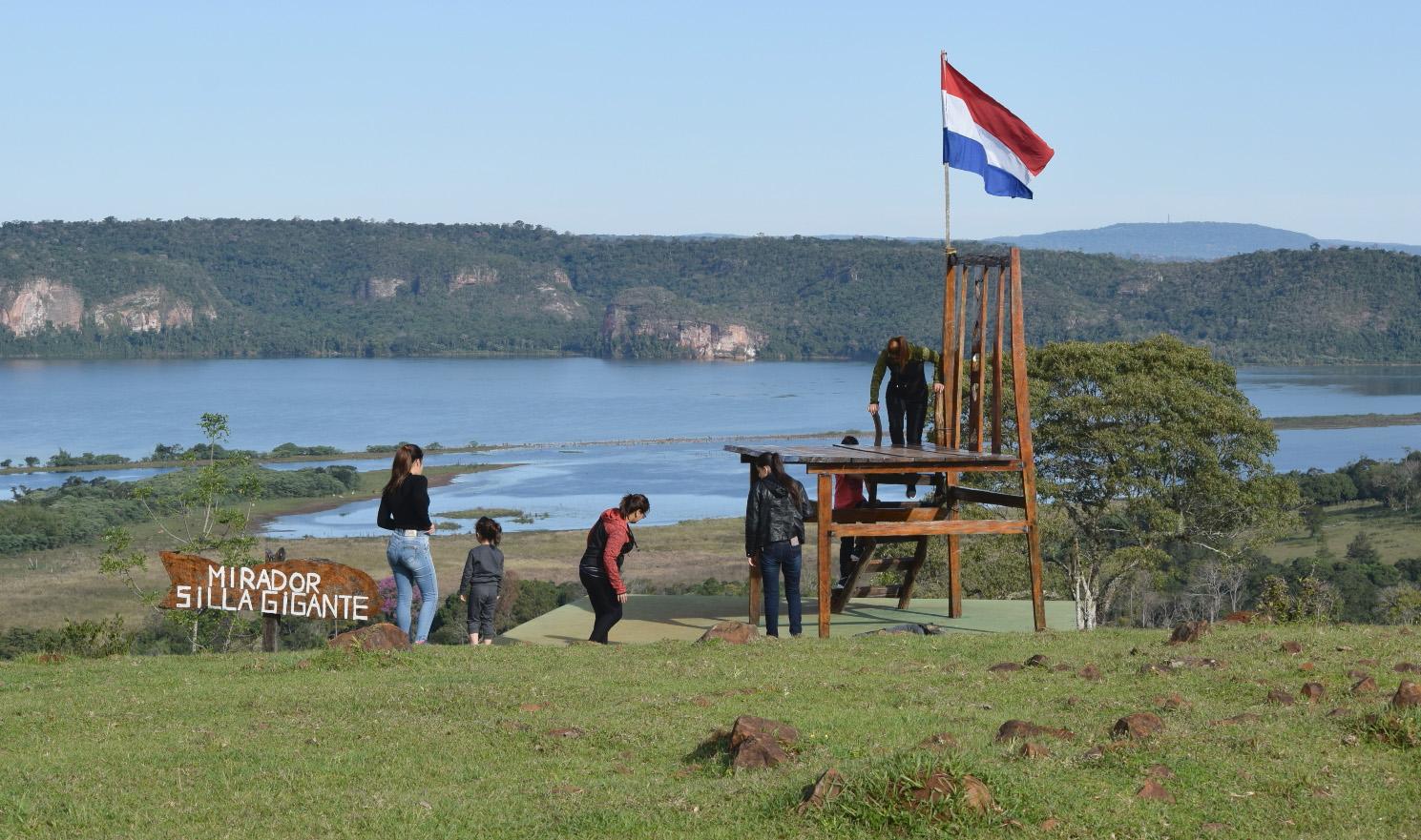 El mirador Silla Gigante es uno de los atractivos del Museo del Árbol.