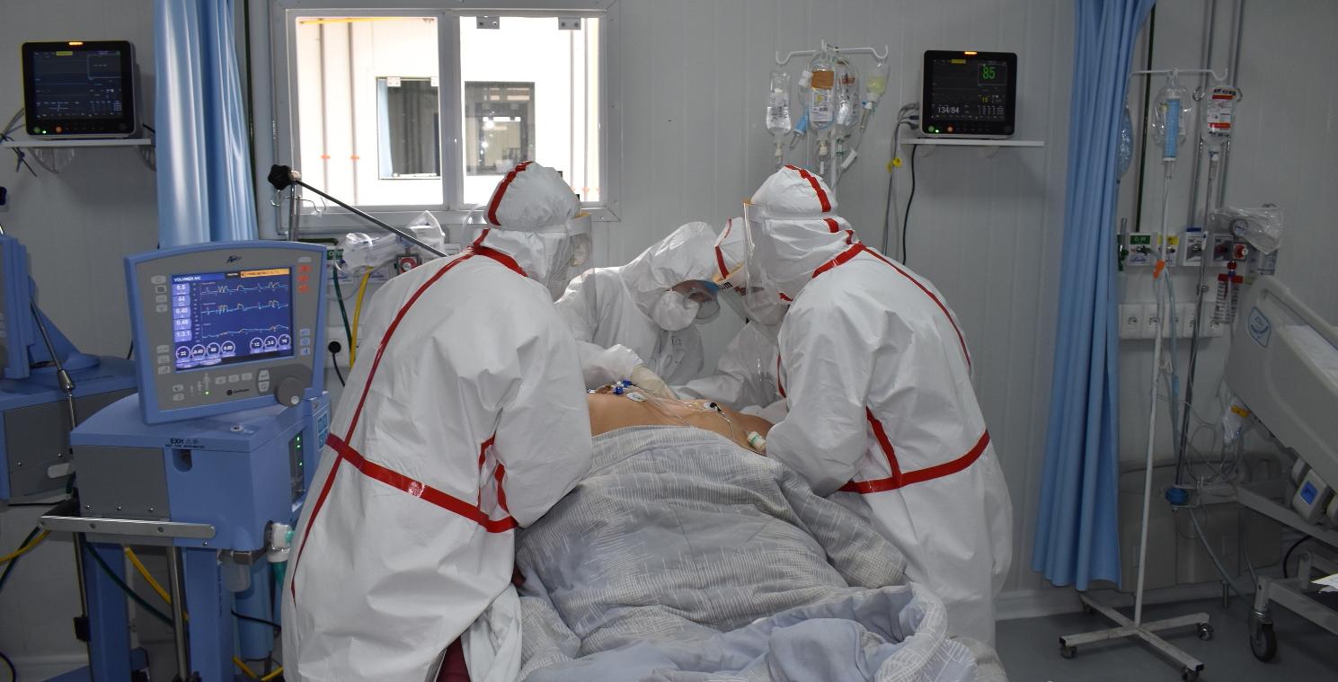 Actualmente el Hospital Nacional de Itauguá cuenta con un 100% de ocupación de las camas UTI.