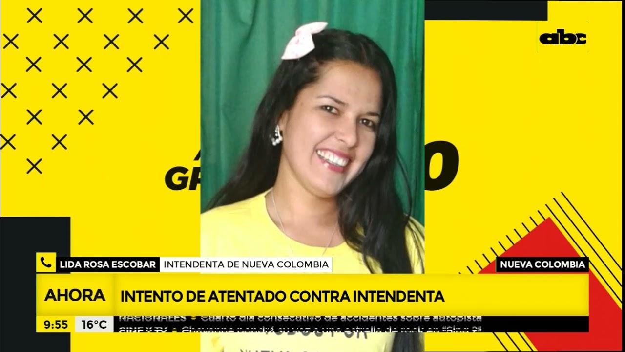 Atentado contra la intendenta de Nueva Colombia - A la gran 730 - ABC Color