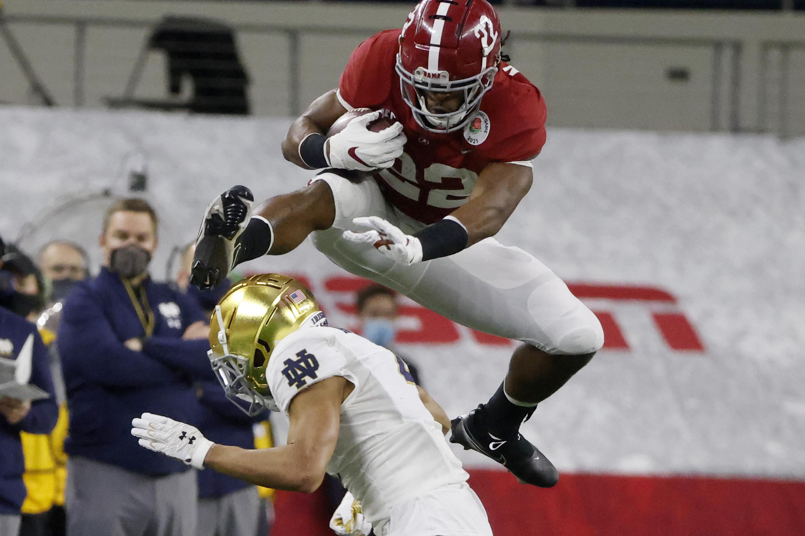Alabama's high-flying Najee Harris presents Ohio State football's run  defense with a killer final exam - cleveland.com