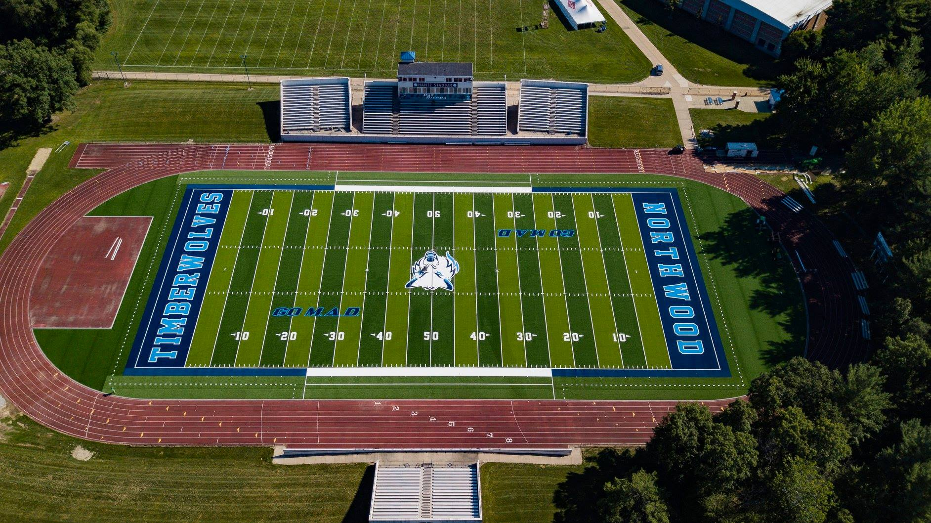 Northwood University S Football Field Is Floating On Water Mlive Com
