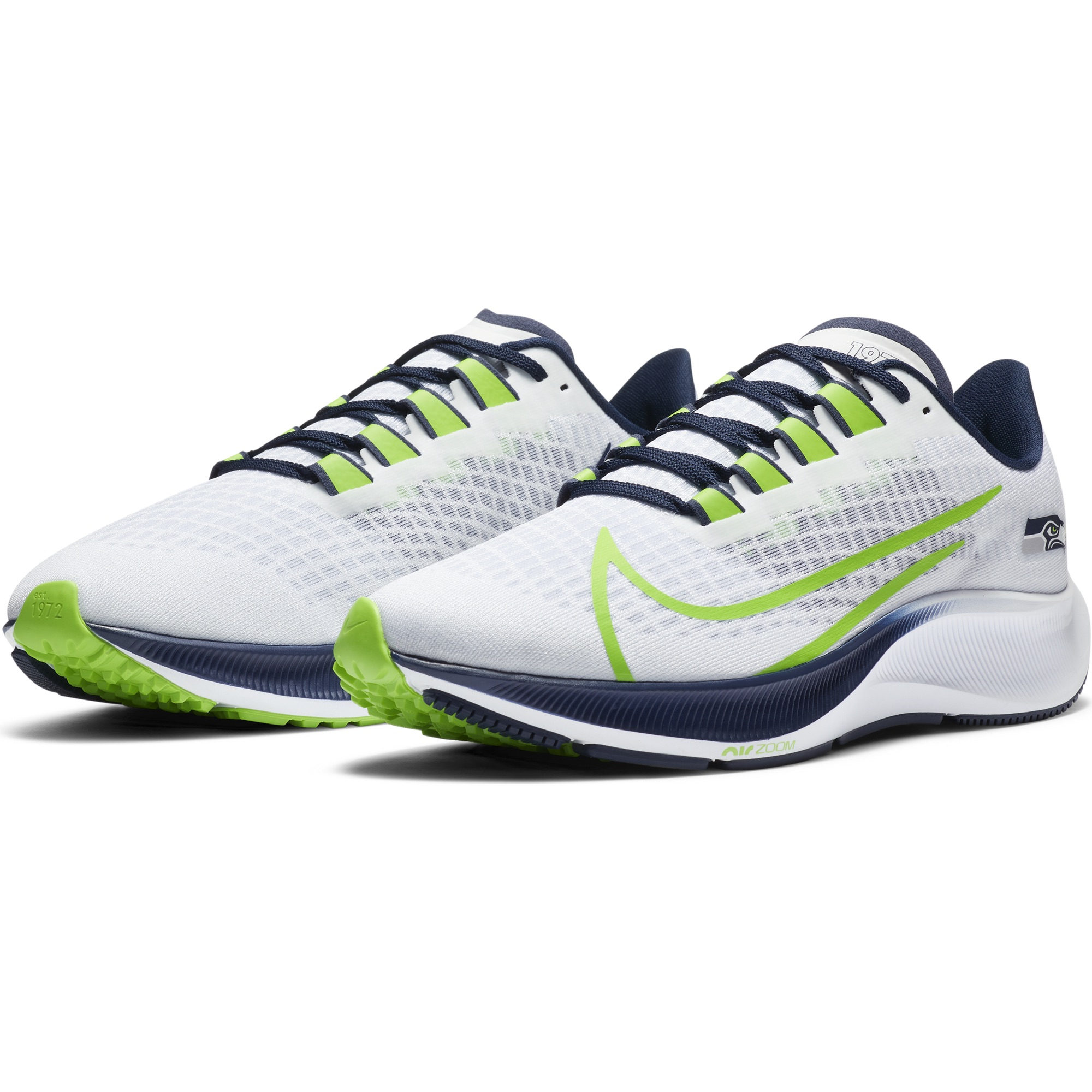 Auto Cumbre Faceta  Nike releases new Seattle Seahawks Pegasus 37 shoes: Are they a must-have,  or will you pass? - oregonlive.com