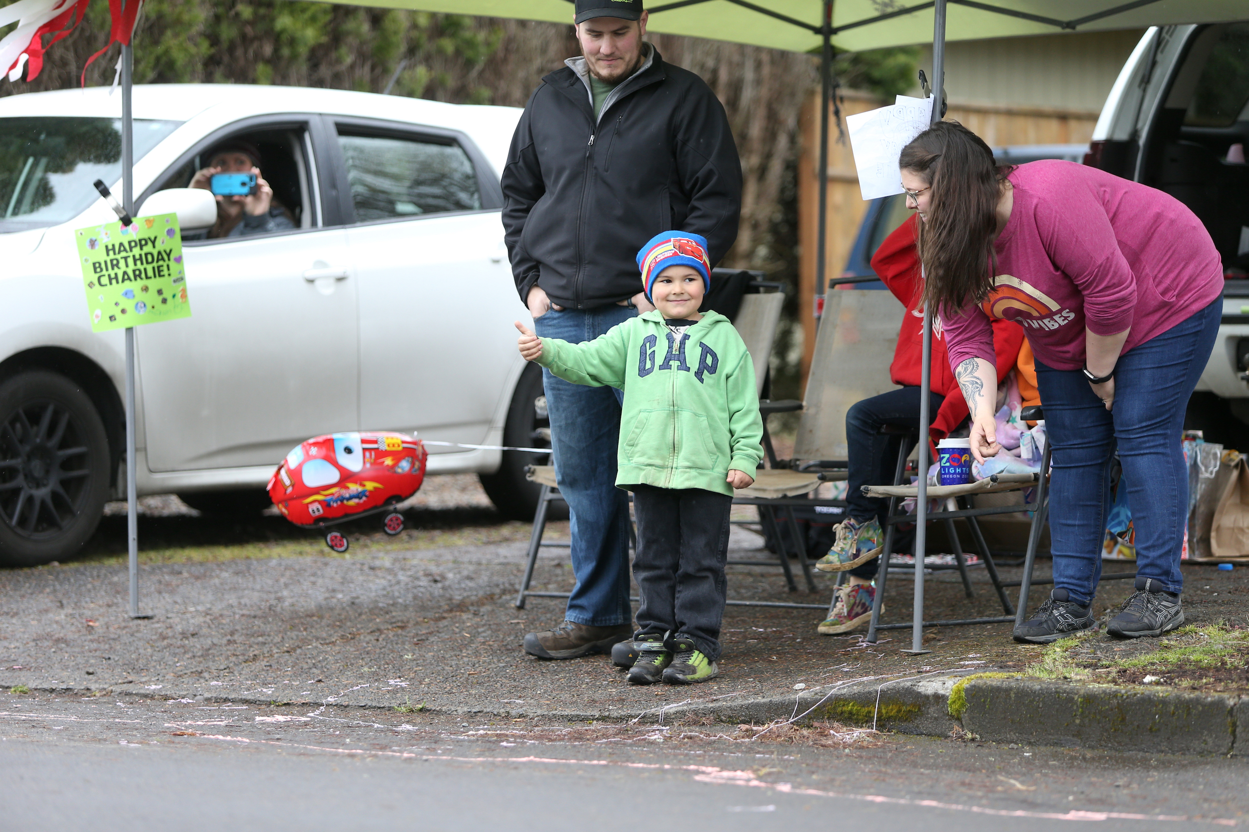 Drive By Birthday Parades Are The New Way To Celebrate At A Distance Oregonlive Com