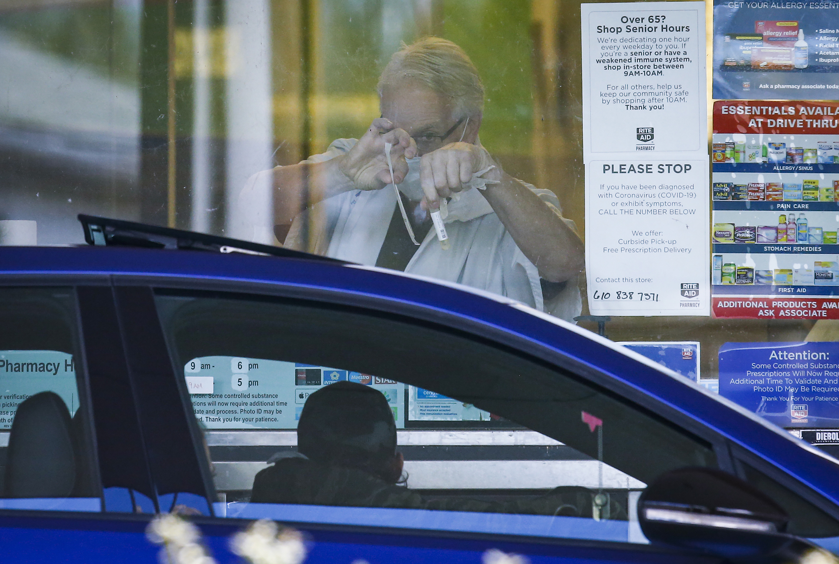 Rite Aid Now Offering Drive Thru Covid 19 Testing In The Lehigh Valley Photos Lehighvalleylive Com