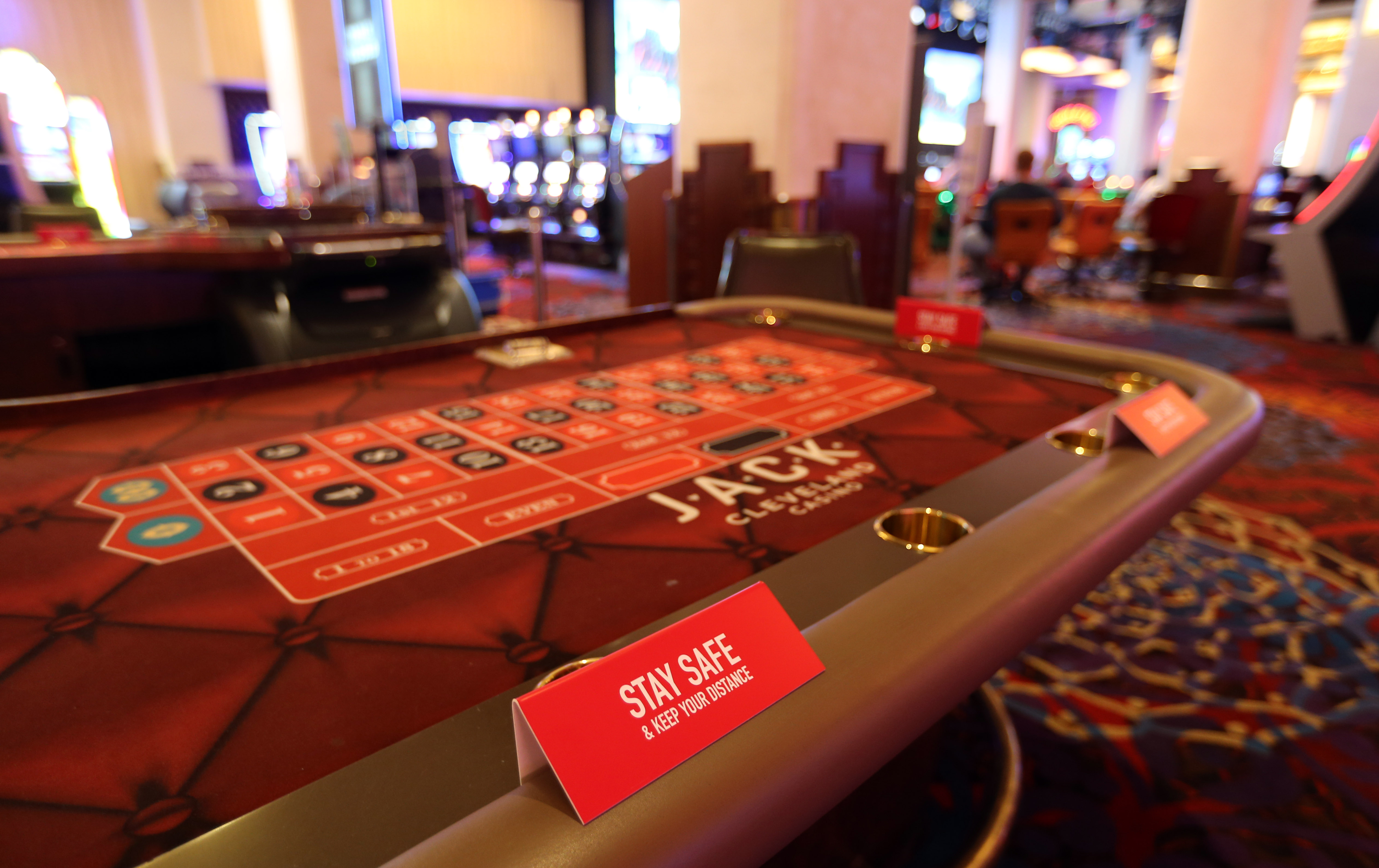 First Look At Jack Cleveland Casino Thistledown Racino Before Friday S Re Opening From Coronavirus Shutdown Photos Video Cleveland Com
