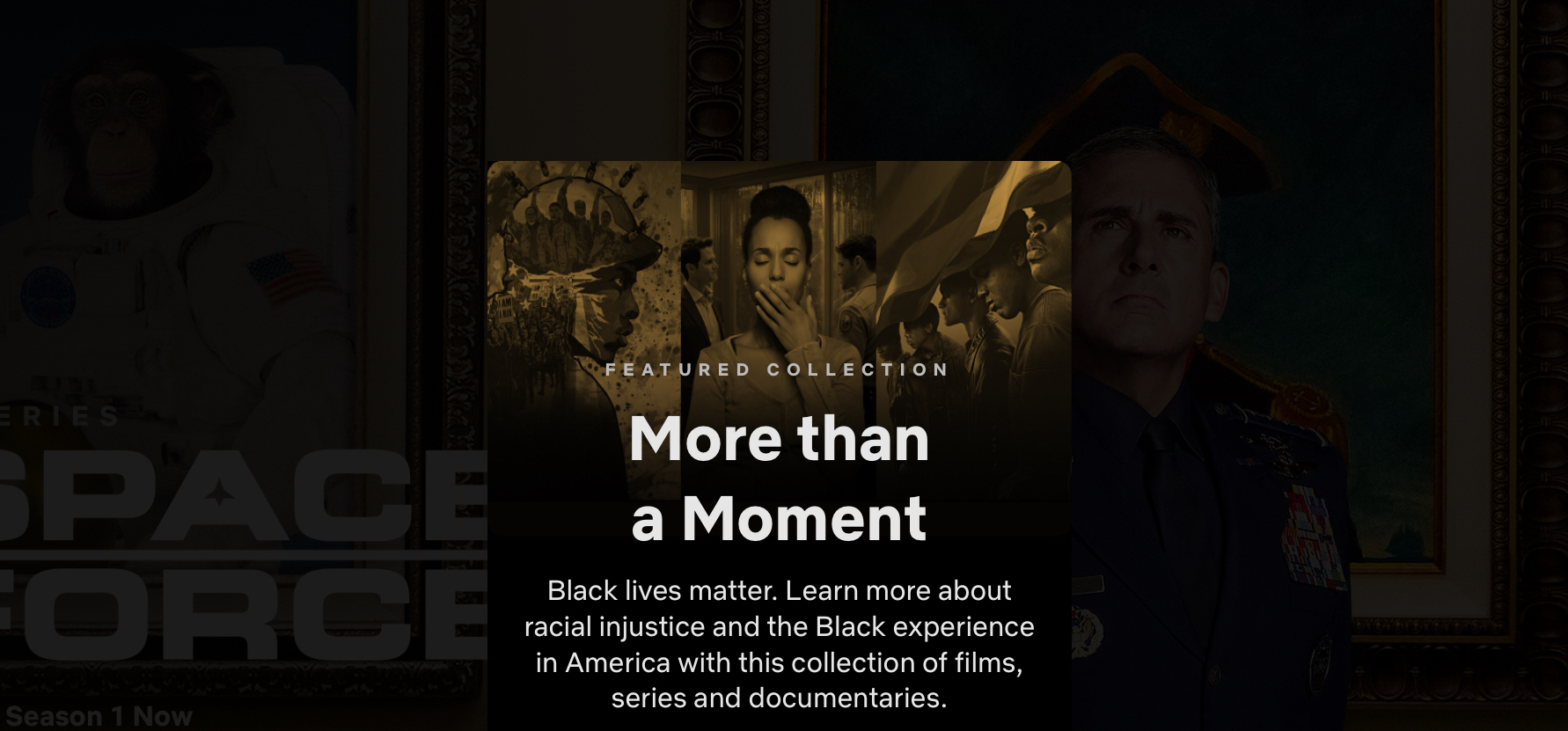 Netflix adds Black Lives Matter collection to showcase stories ...