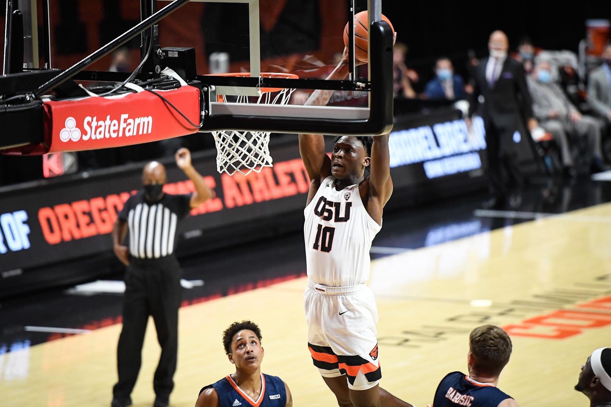 Oregon State's Warith Alatishe, an under-the-radar prospect who emerges as  an elite college basketball rebounder - oregonlive.com