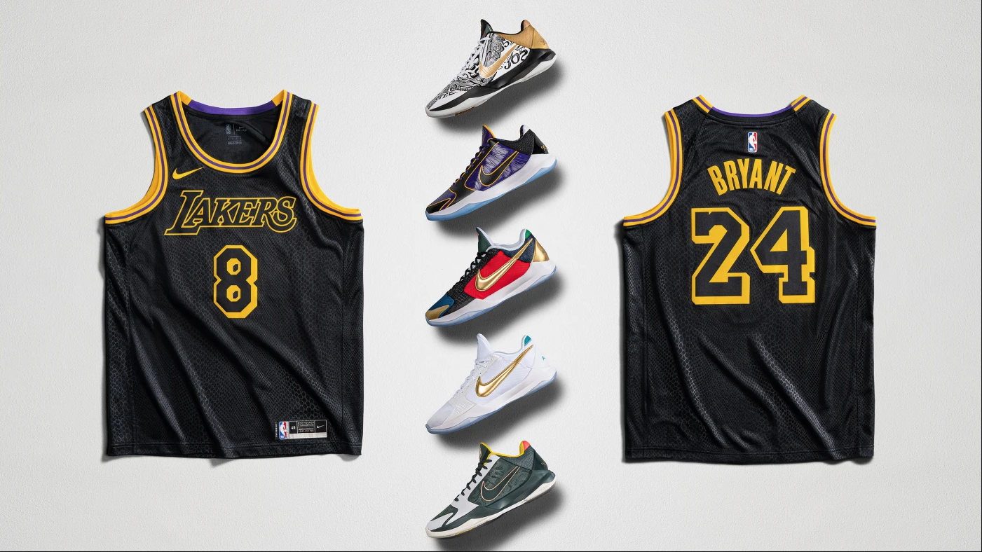 Mamba Week Nike Celebrates Kobe Bryant S Legacy With New Sneaker Jersey Releases Release Dates How To Buy New Kobe V Protro Nj Com