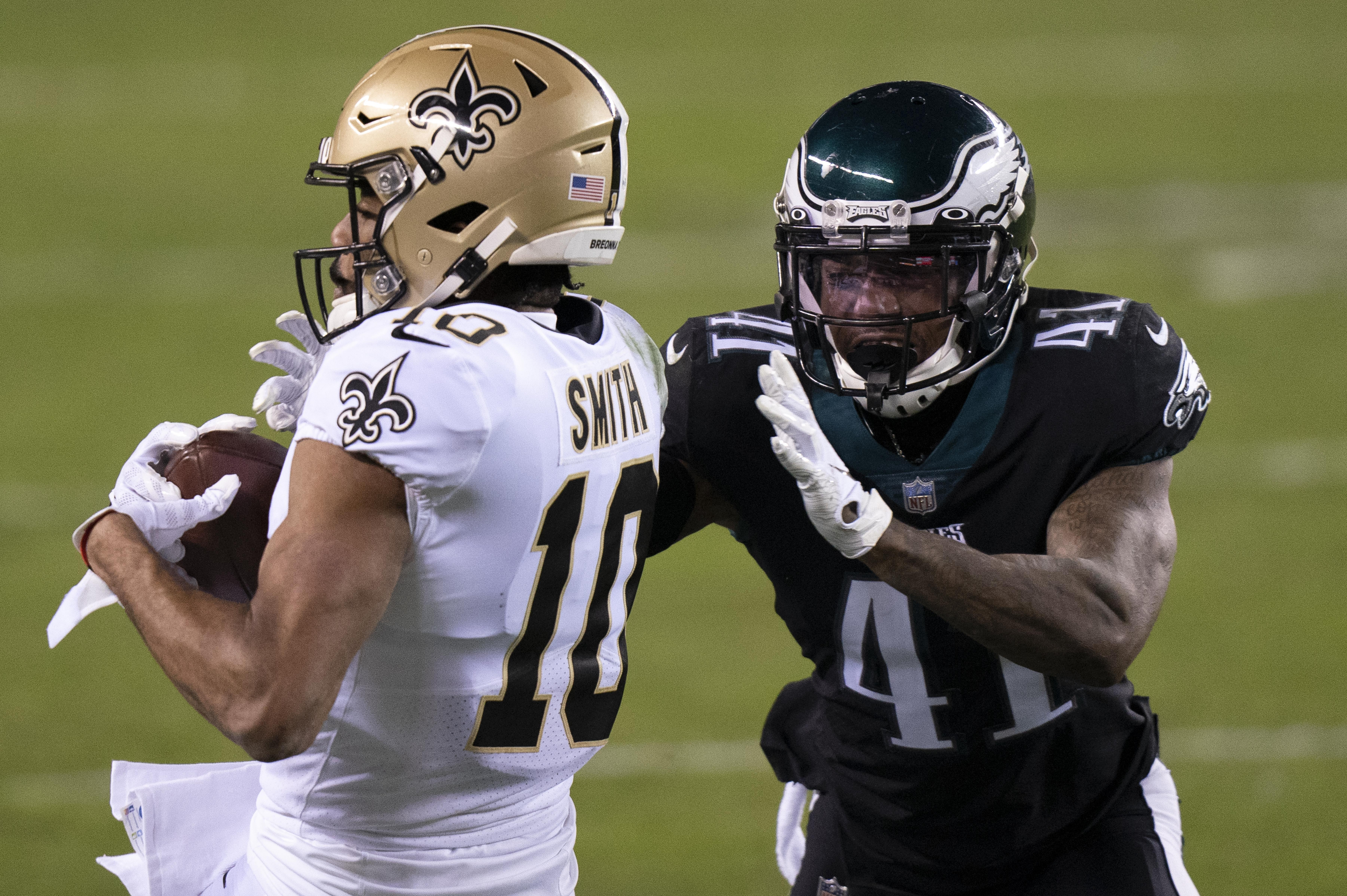 Eagles' Kevon Seymour is thankful for his new opportunity after ...