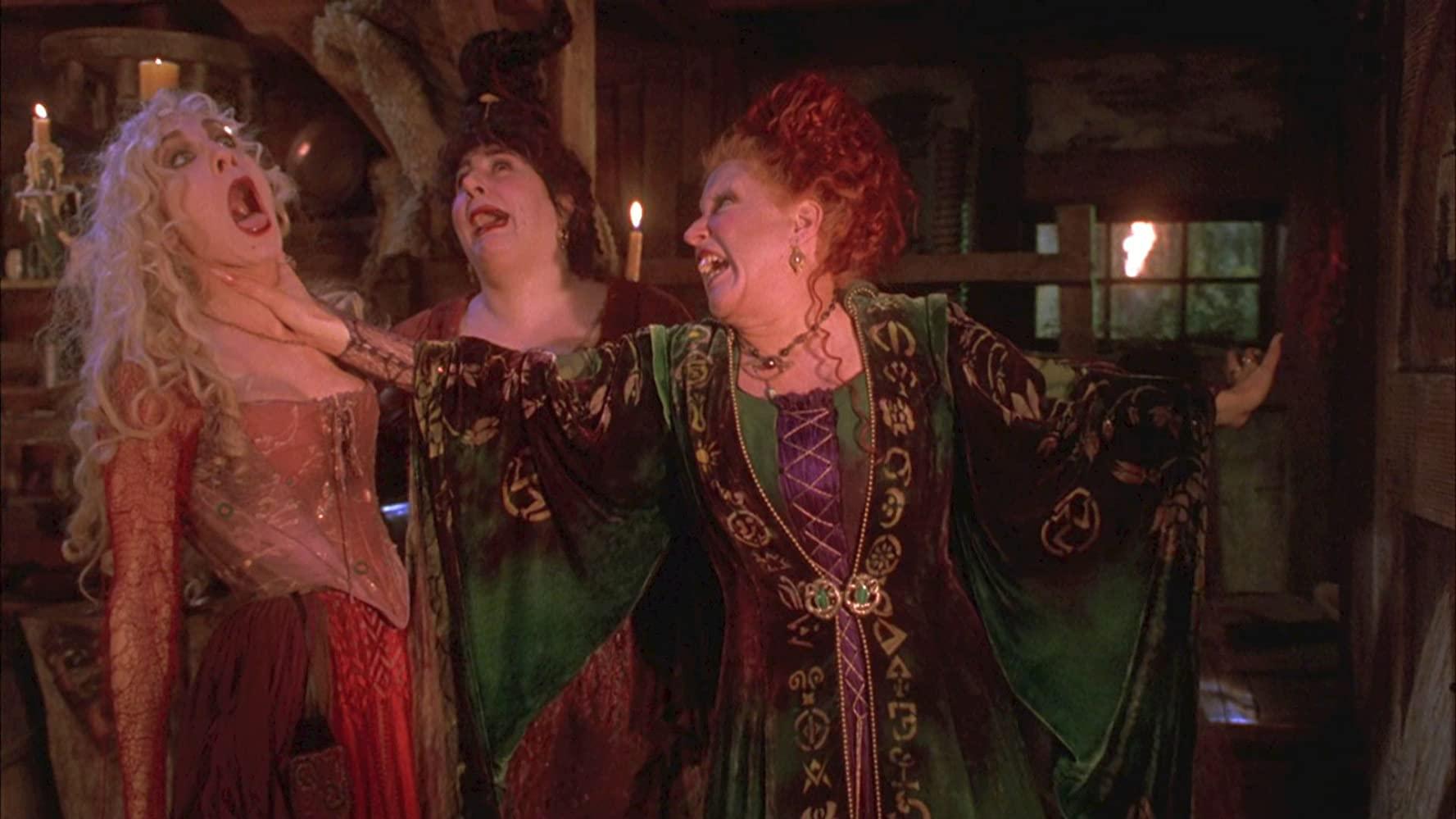 Hocus Pocus Fans Got A Sneak Peek Of The Sanderson Sisters Reunion Pennlive Com