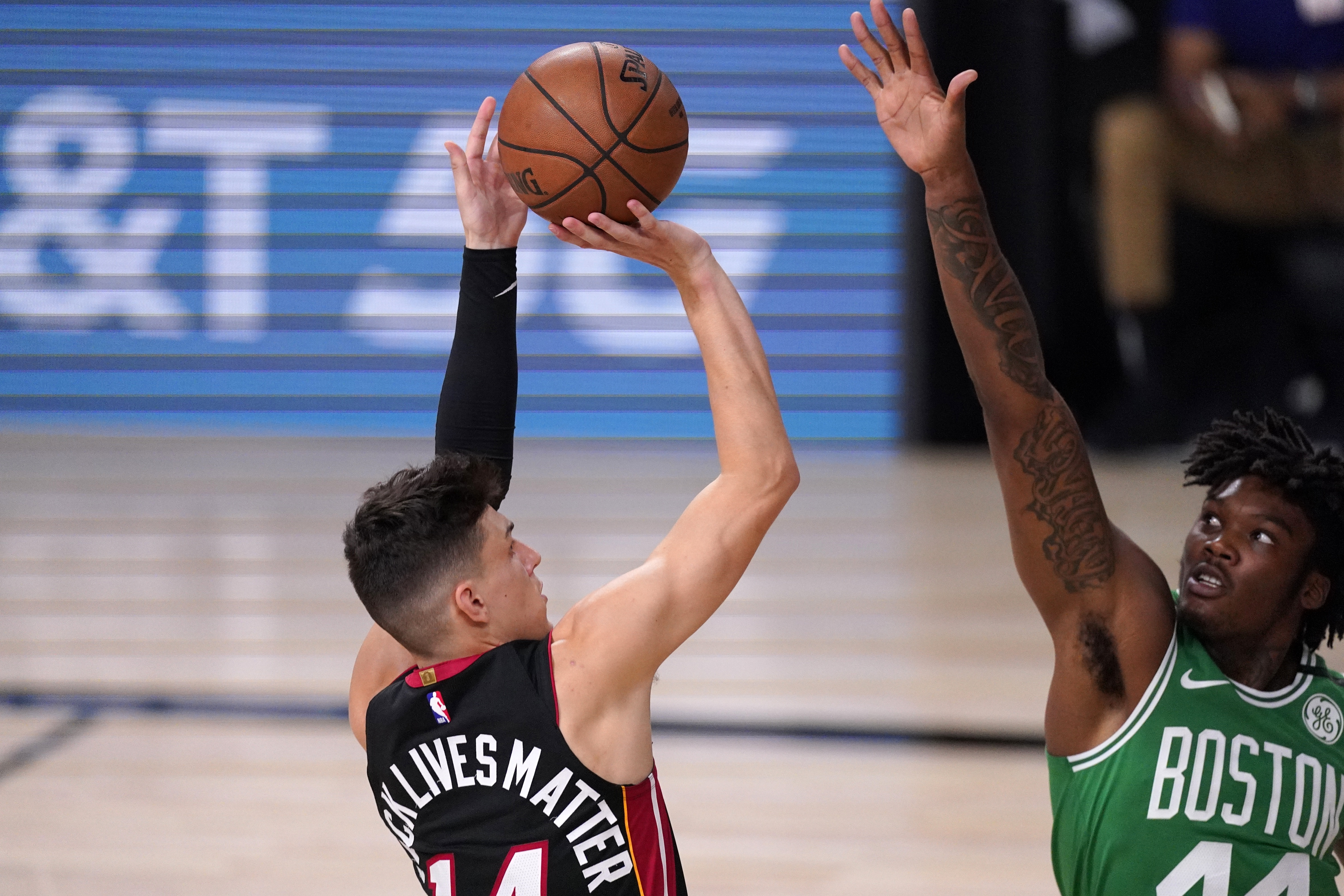 Scorching Hot Tyler Herro Shoots Miami Heat Past Boston Celtics And To 3 1 Lead In Eastern Conference Finals Masslive Com