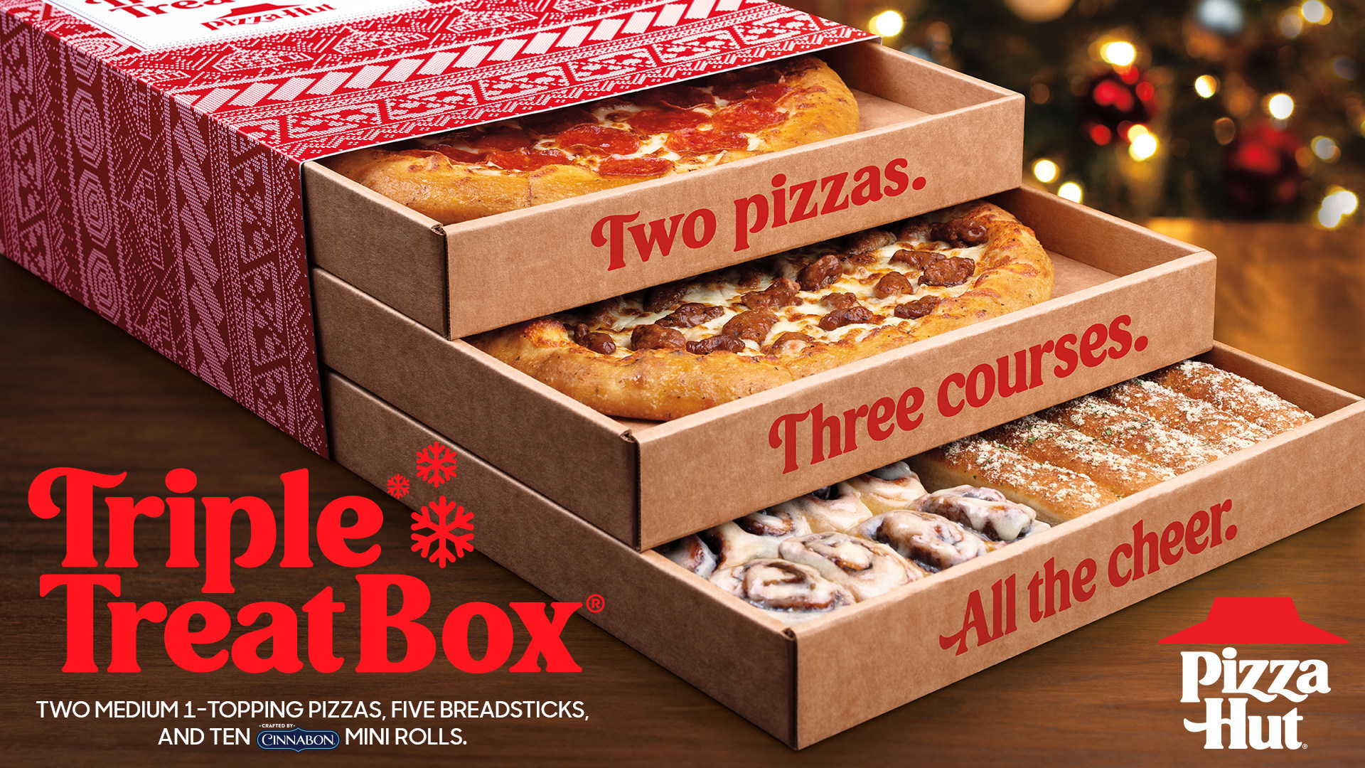 Pizza Hut Releases Triple Treat Box That Includes Pizza And Cinnabon Cinnamon Rolls Pennlive Com