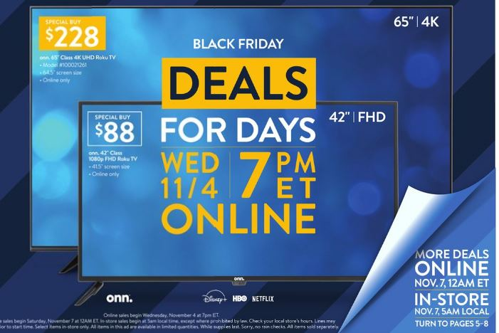Walmart Black Friday 2020 See Ad For Walmart S First Black Friday Sale Al Com