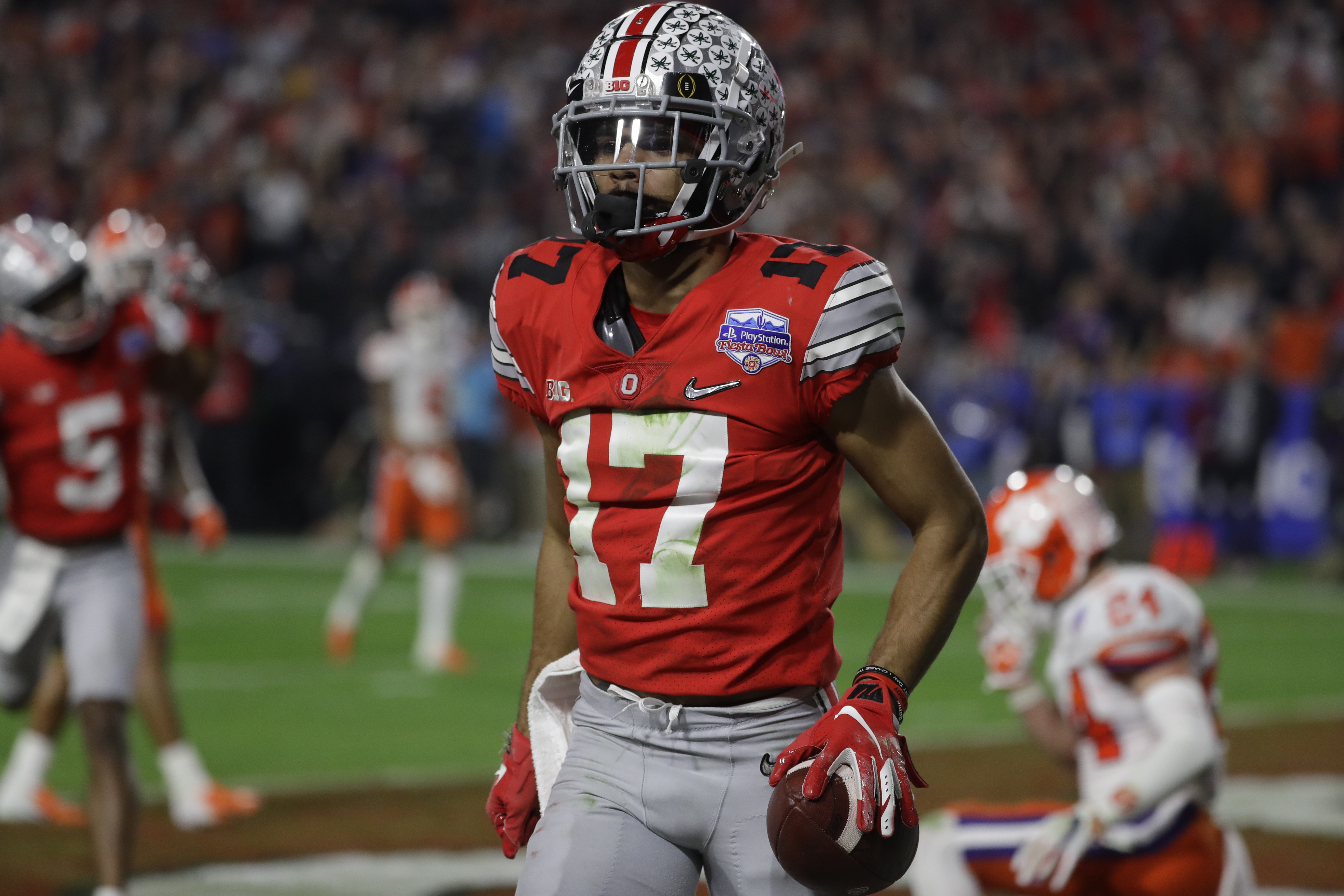 What S More Likely For Ohio State Football Chris Olave Wins The Biletnikoff Award Vs Shaun Wade Wins The Thorpe Award Cleveland Com