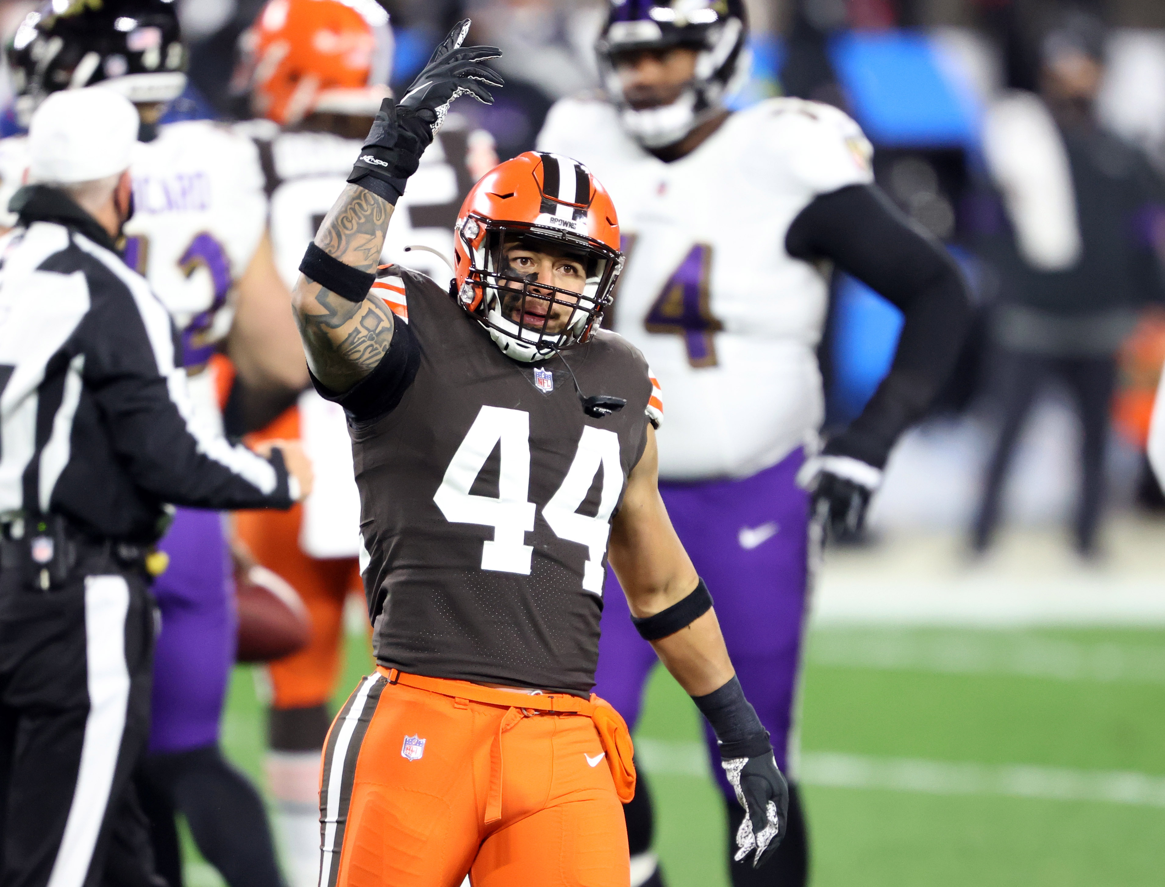Browns defensive player grades vs. the Ravens: Who was elite, average and  replaceable in Week 14? - cleveland.com