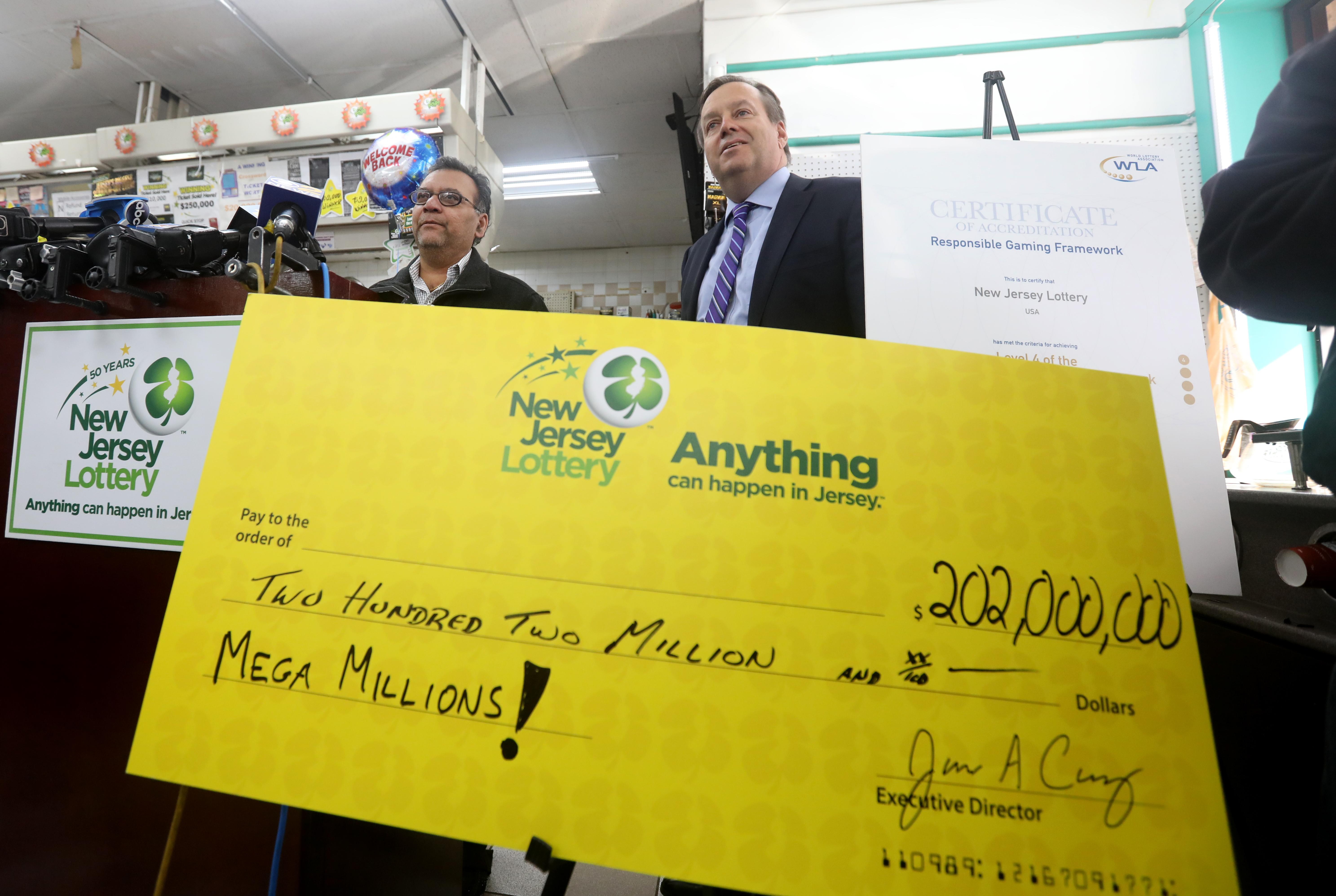 lottery jackpot winners online betting