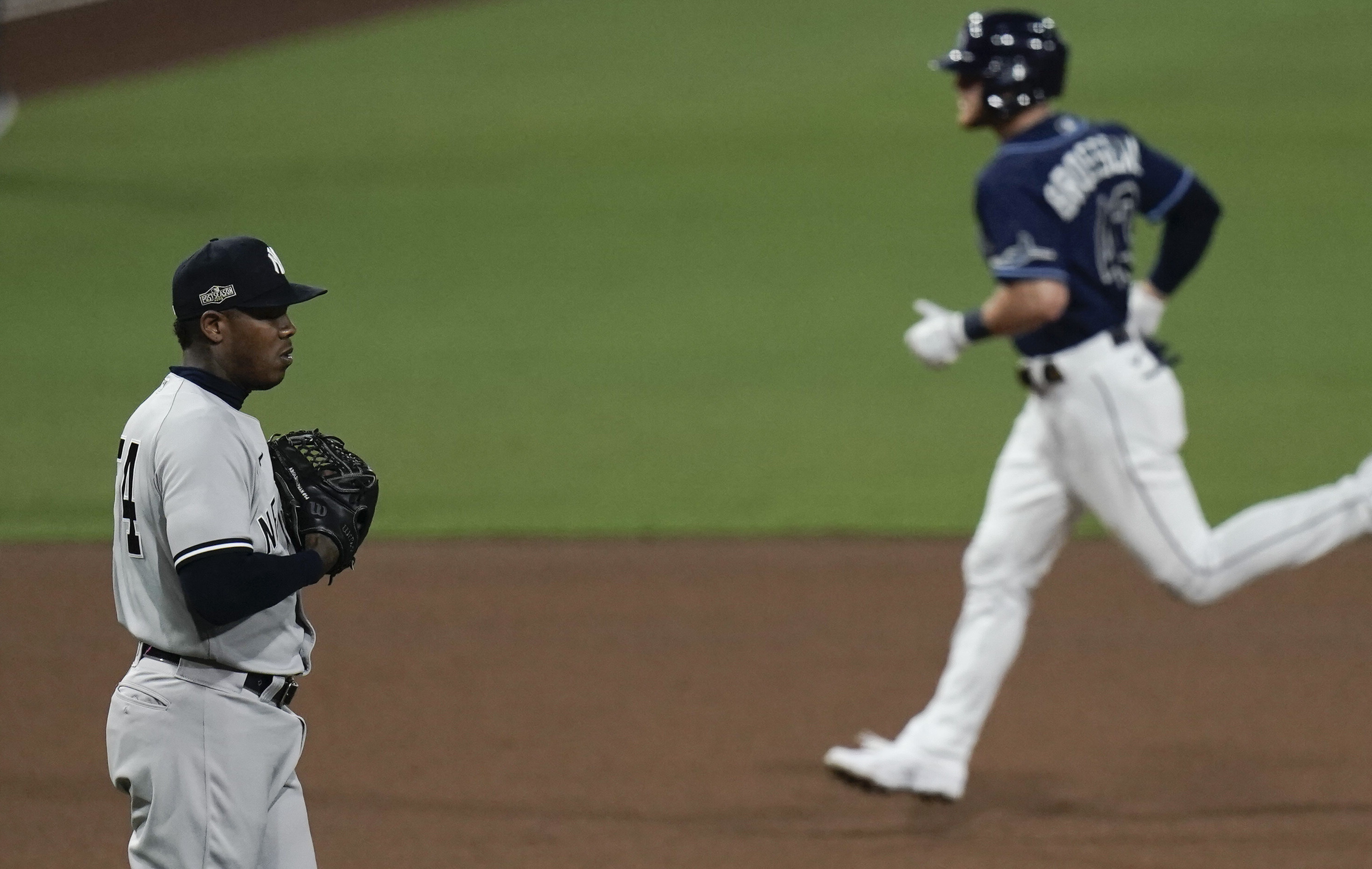 How Yankees' Aroldis Chapman explained Rays' Mike Brosseau owning him in  ALDS Game 5 - nj.com