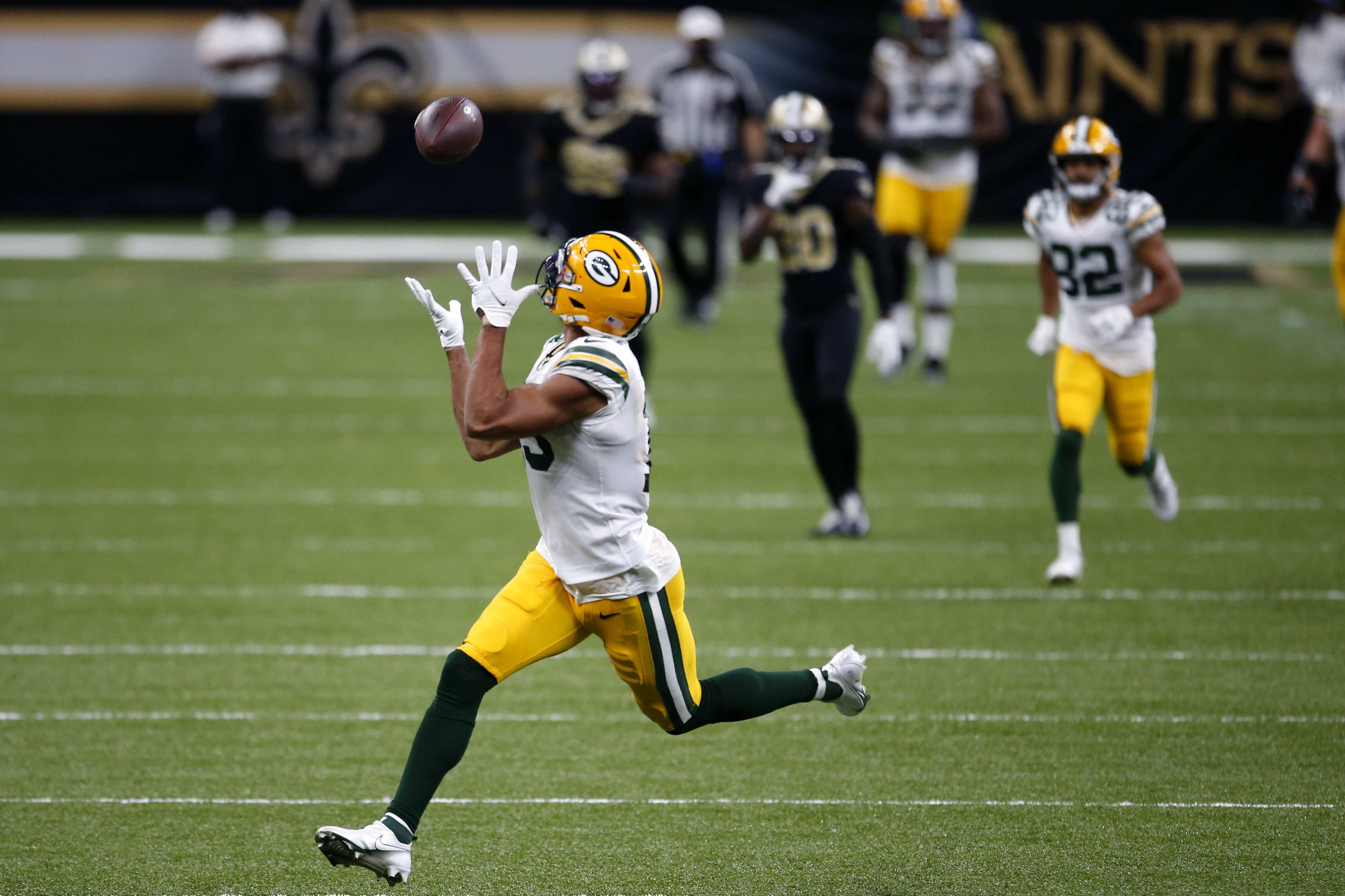 Aaron Rodgers Leads The Green Bay Packers Past The New Orleans Saints Recap Score Stats And More Oregonlive Com