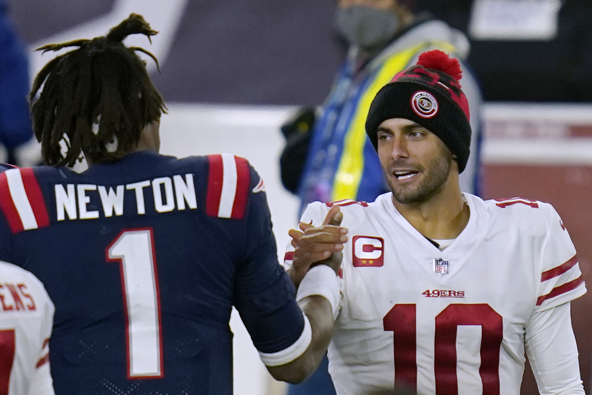 Is Jimmy Garoppolo trade to Patriots more likely now that 49ers made NFL  Draft deal? (Weekly mailbag) - masslive.com