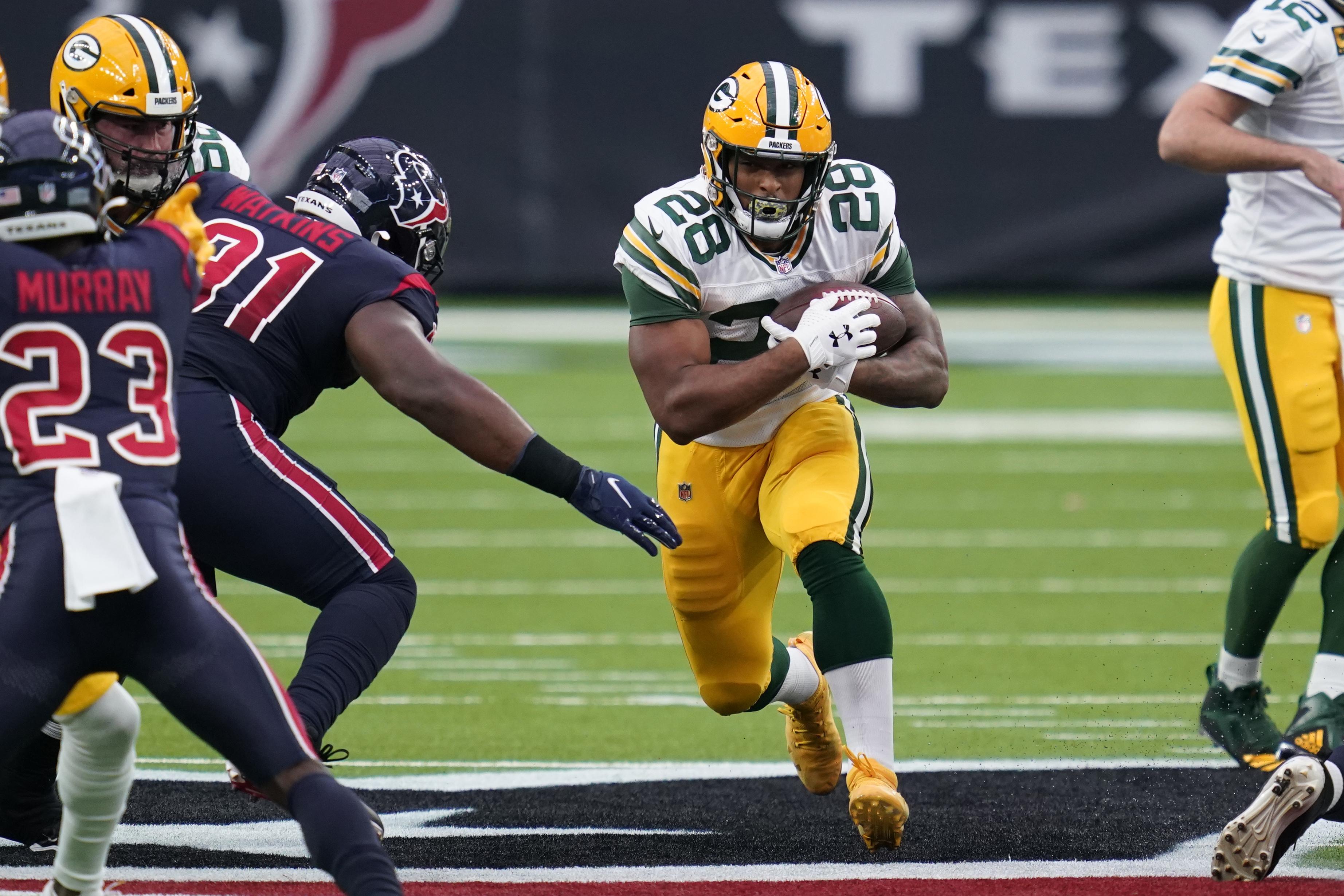 AJ Dillon has COVID-19: Green Bay Packers place Boston College alum on reserve list - masslive.com
