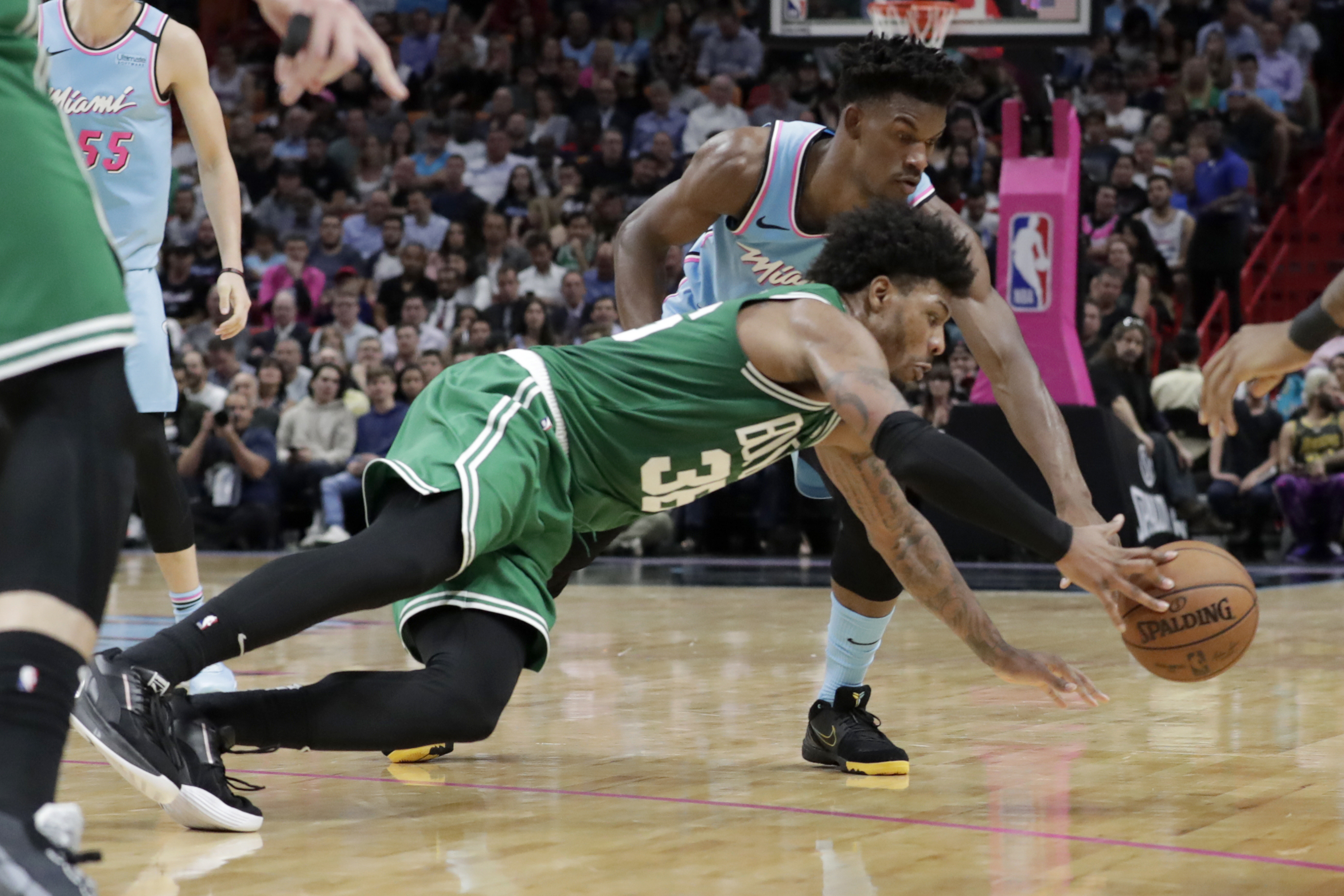 Jimmy Butler Not Focused On Past Battles With Boston Celtics Marcus Smart Won T Make It About Me Vs Him Masslive Com