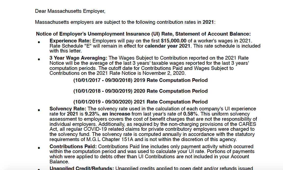 Some Massachusetts Employers Still Face Major Tax Increases Due To Covid Related Unemployment Claims Masslive Com