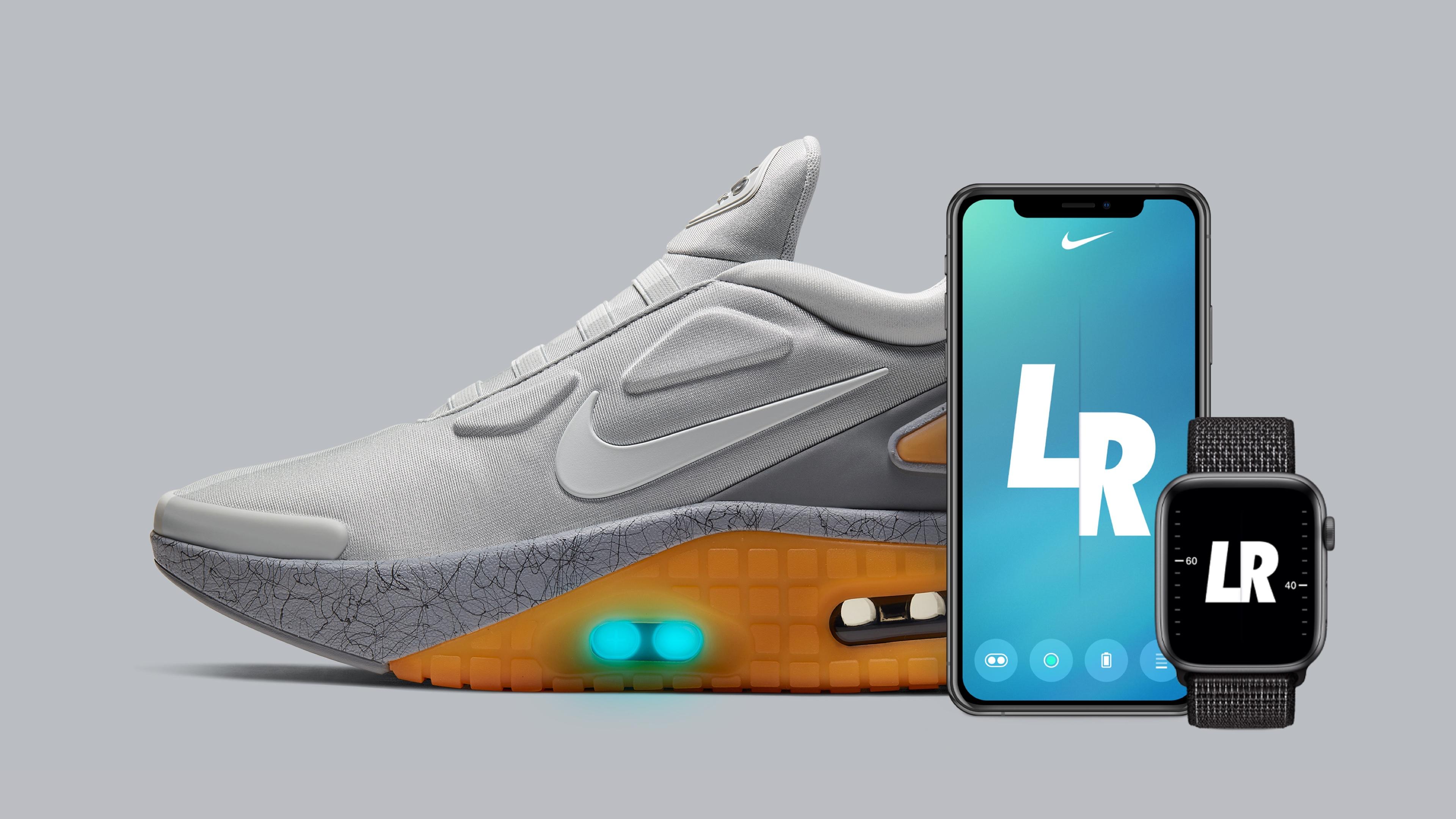 Nike's new power-lacing Air Max