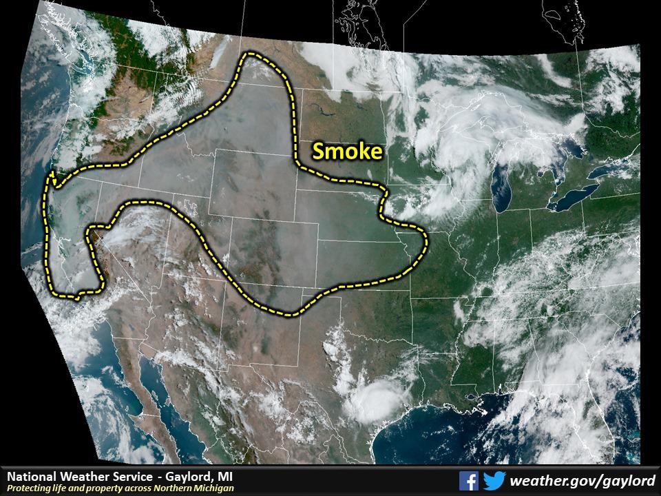 smoky skies smoked rain on the way to michigan from california mlive com smoky skies smoked rain on the way to