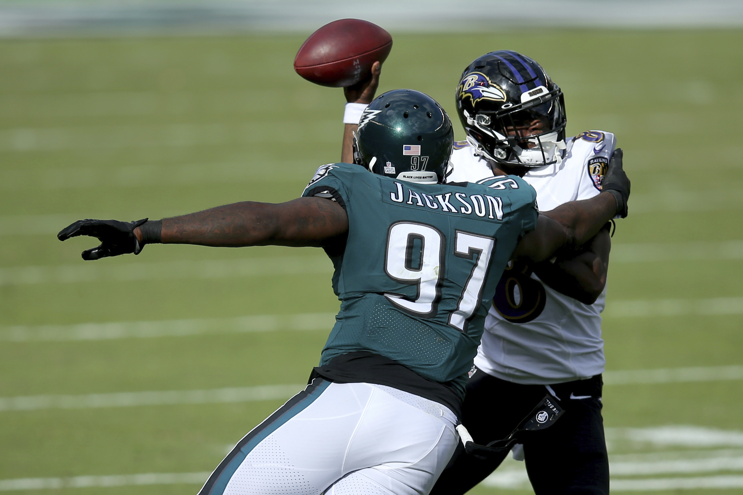 Browns agree with former Eagles defensive tackle Malik Jackson on a 1-year  deal - cleveland.com