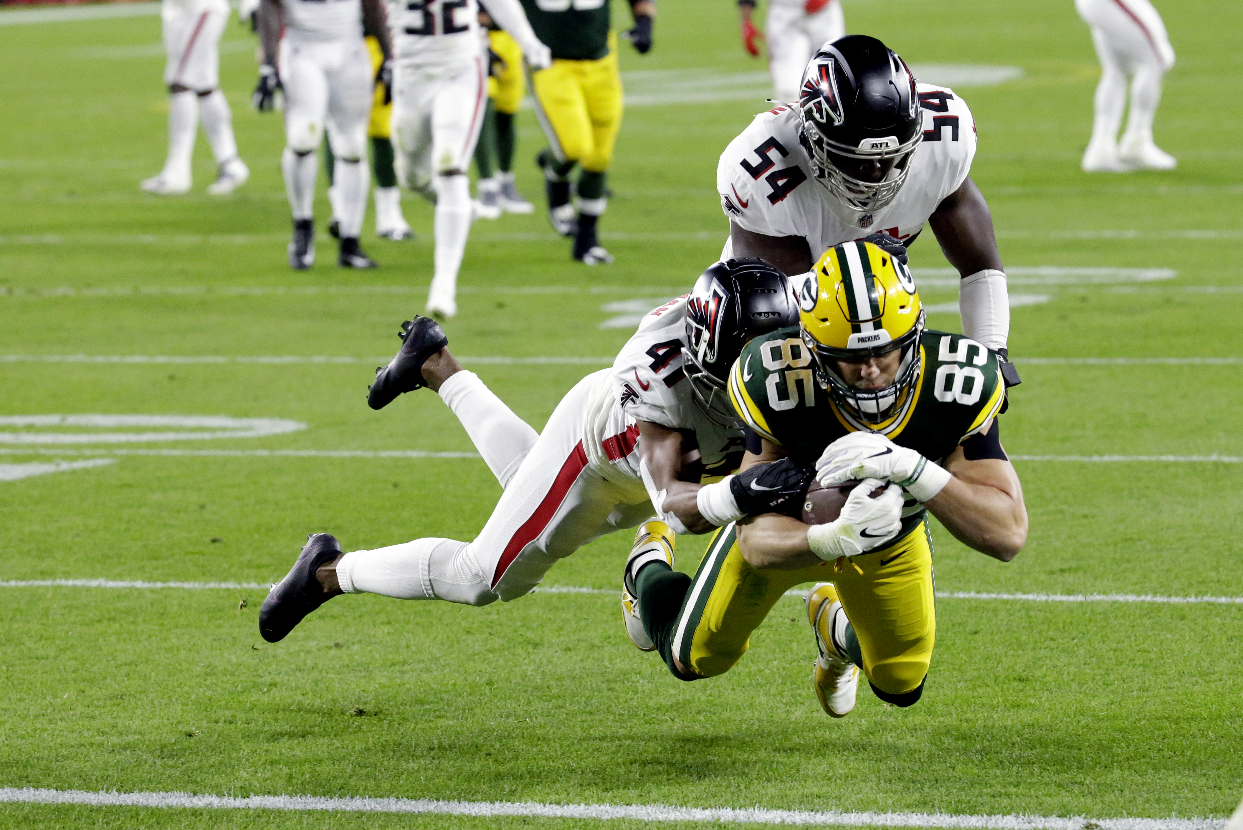 Aaron Rodgers Throws 4 Td Passes As The Green Bay Packers Roll Past The Atlanta Falcons Recap Score Stats And More Oregonlive Com
