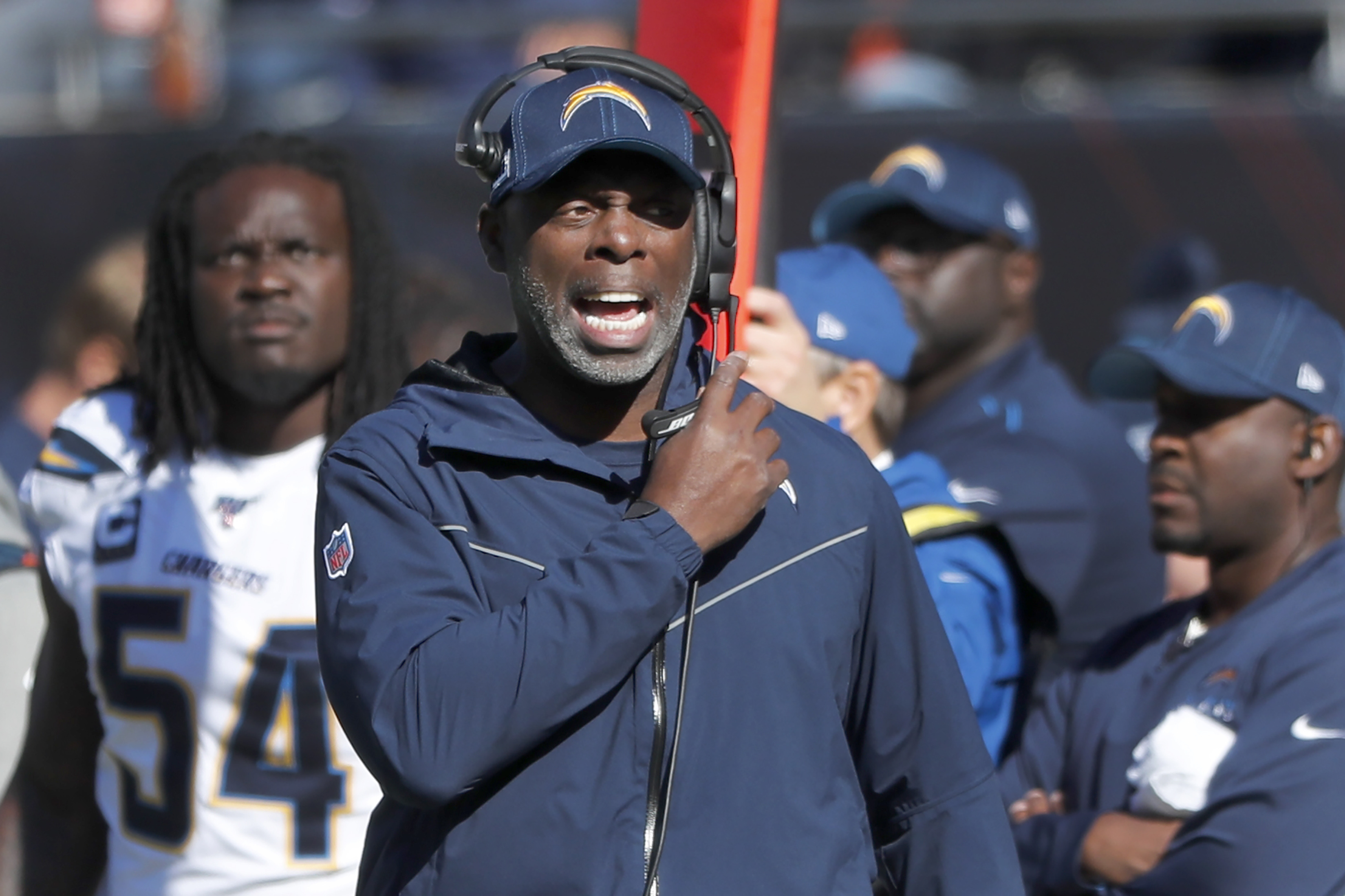 Los Angeles Chargers head coach Anthony Lynn: 'I expect to be the coach of  this team tomorrow' after humiliating 45-0 loss - oregonlive.com