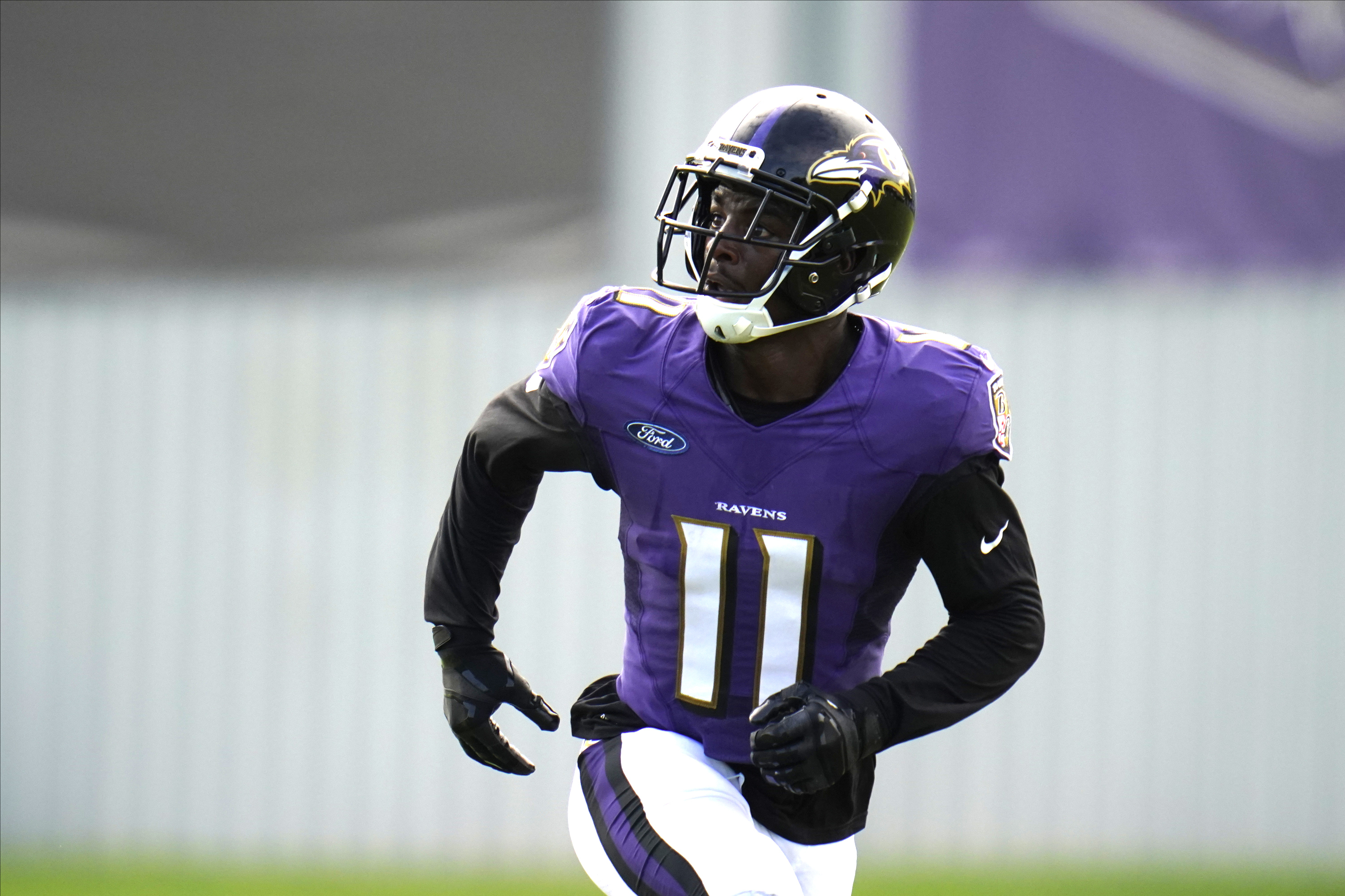 Why Baltimore Ravens James Proche Has Draw Admiration Of Coaches But Little Playing Time On Offense Pennlive Com
