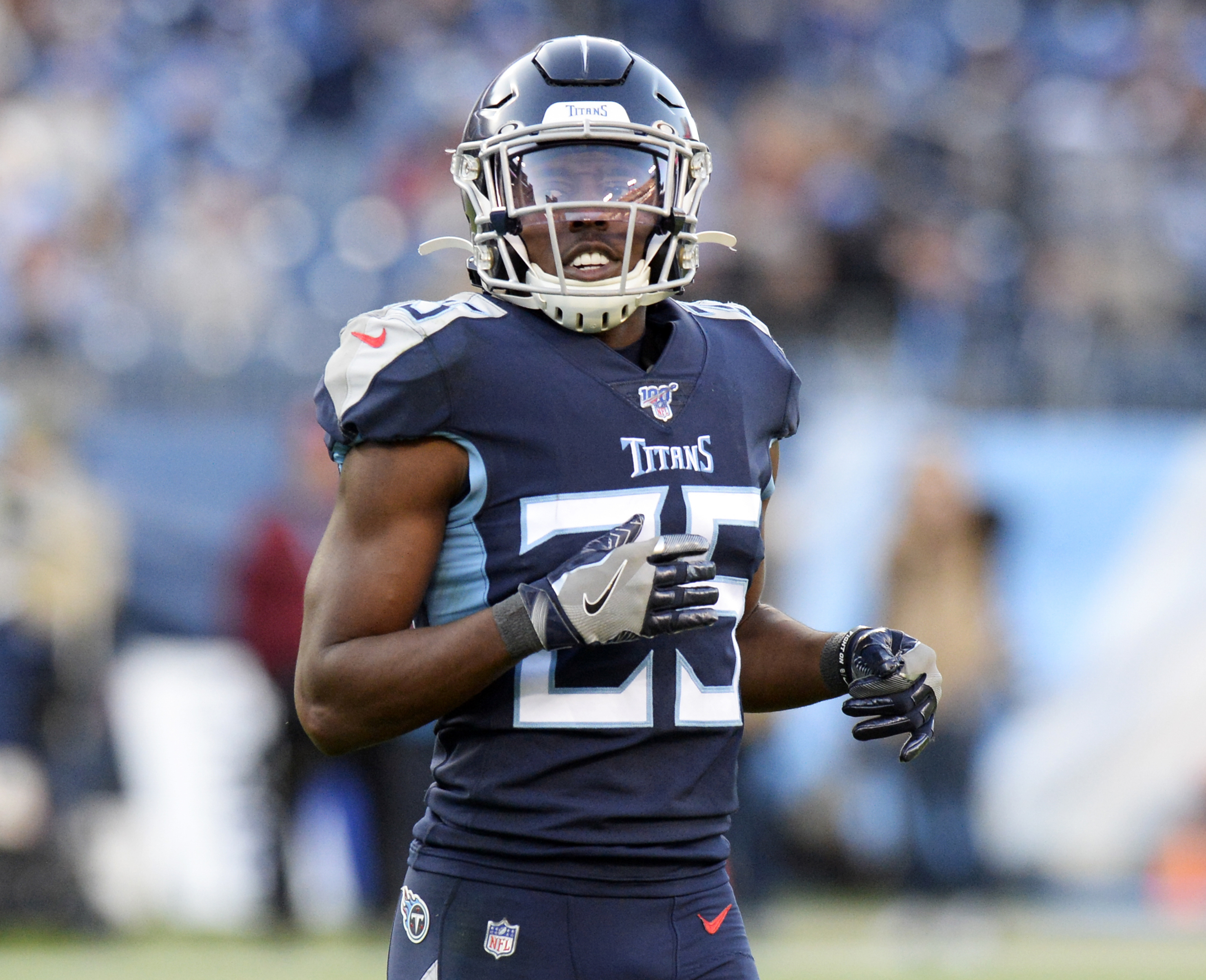Adoree' Jackson Tennessee Titans Game Jersey