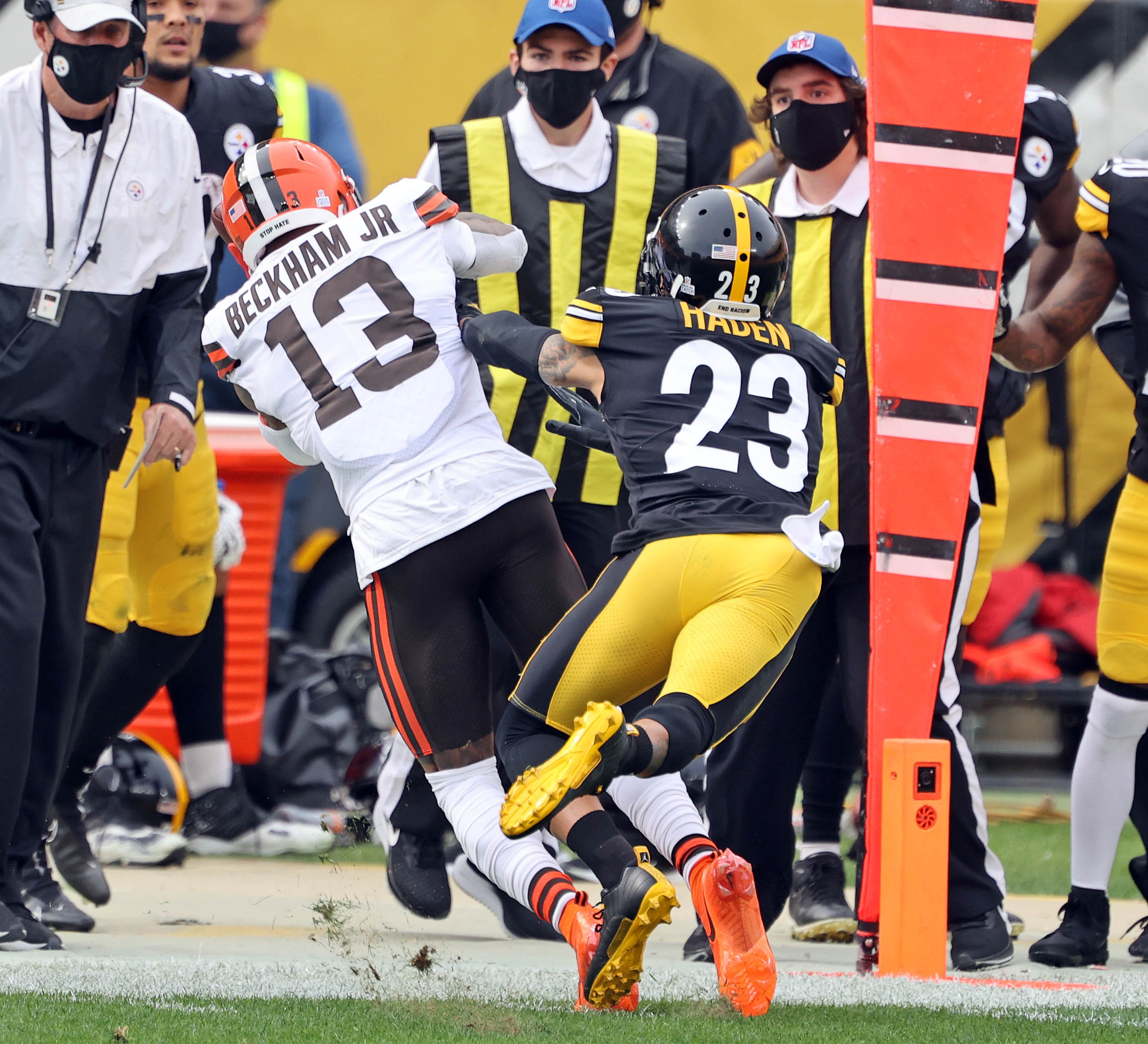 Steelers' Joe Haden will miss Browns game and likely 1st playoff ...