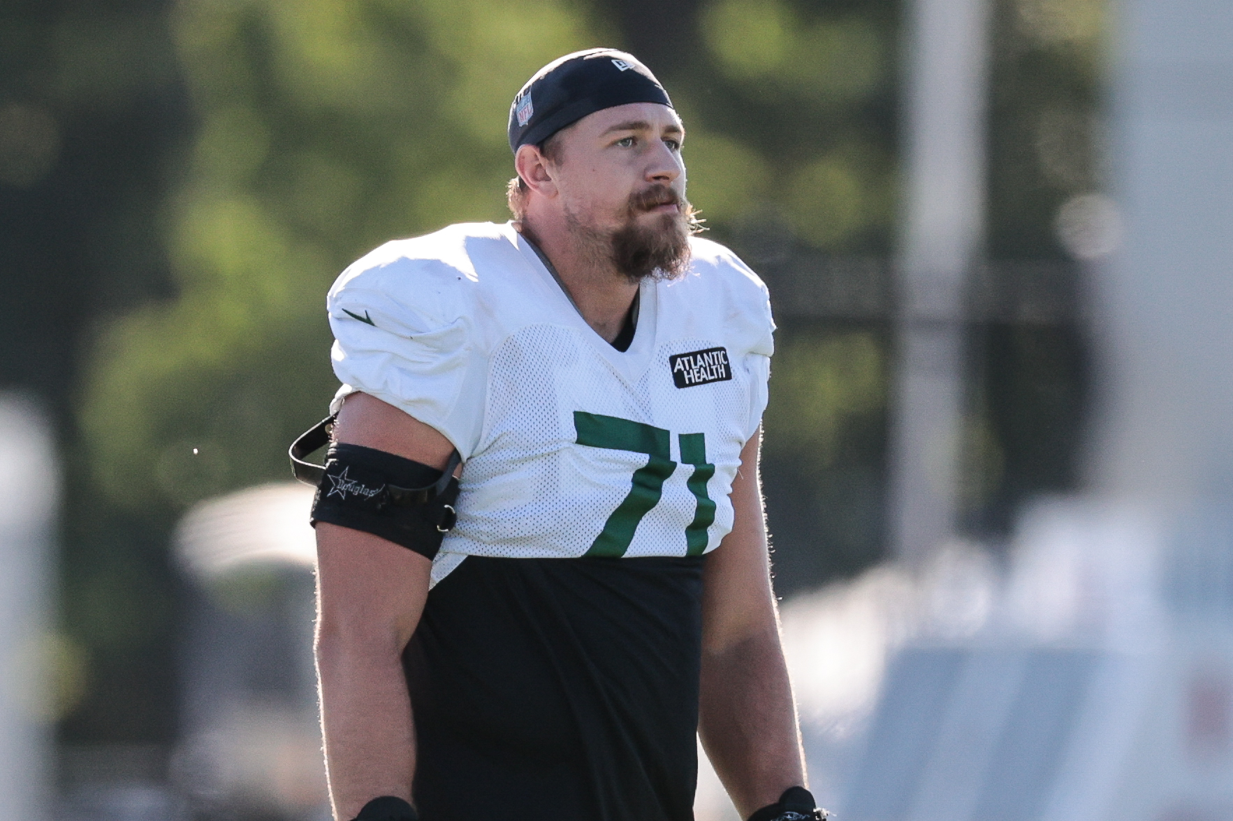 Fight! Tensions boil over at Jets training camp between Jordan ...