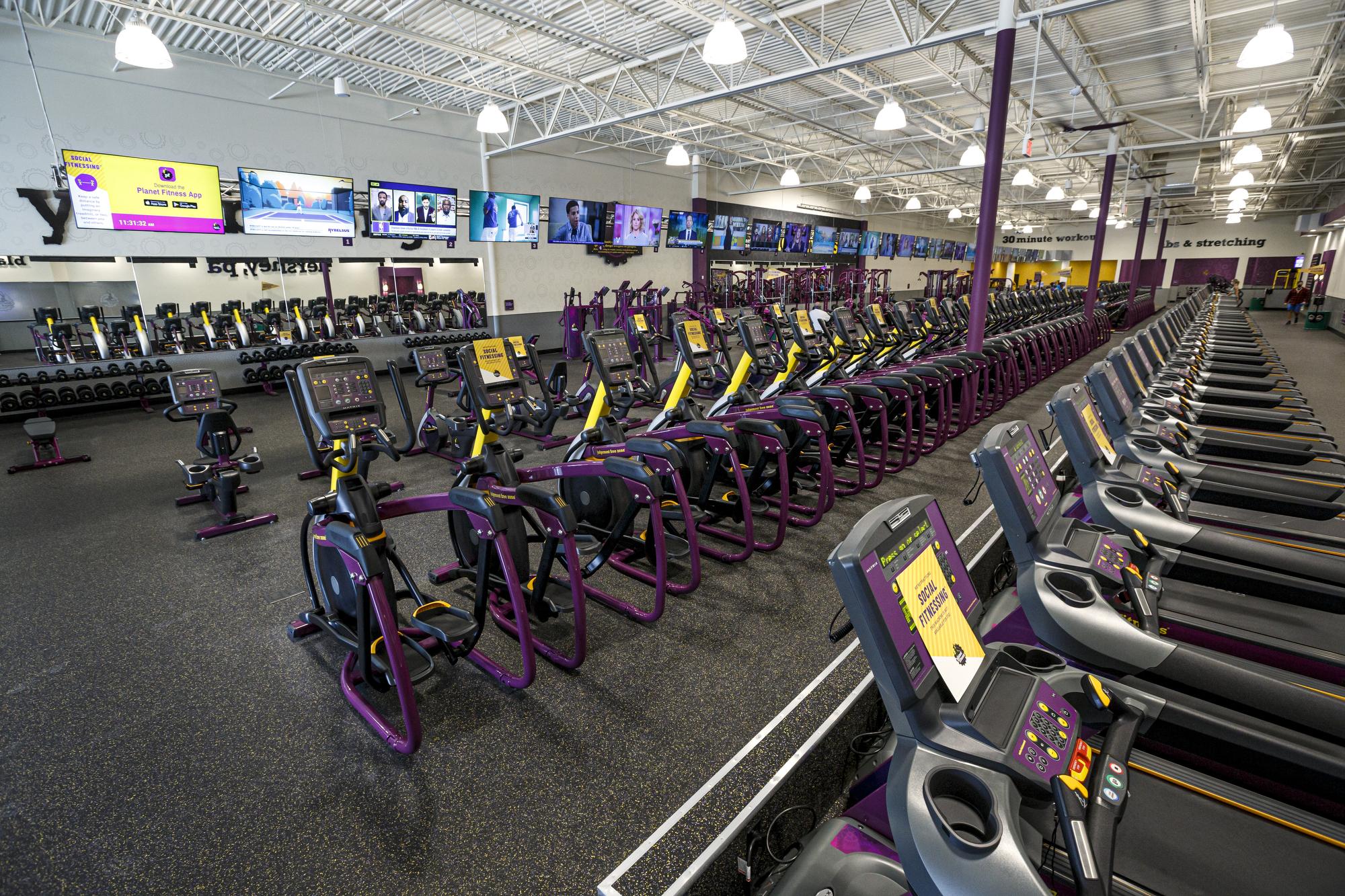 Planet Fitness Cardio Machines Off 60