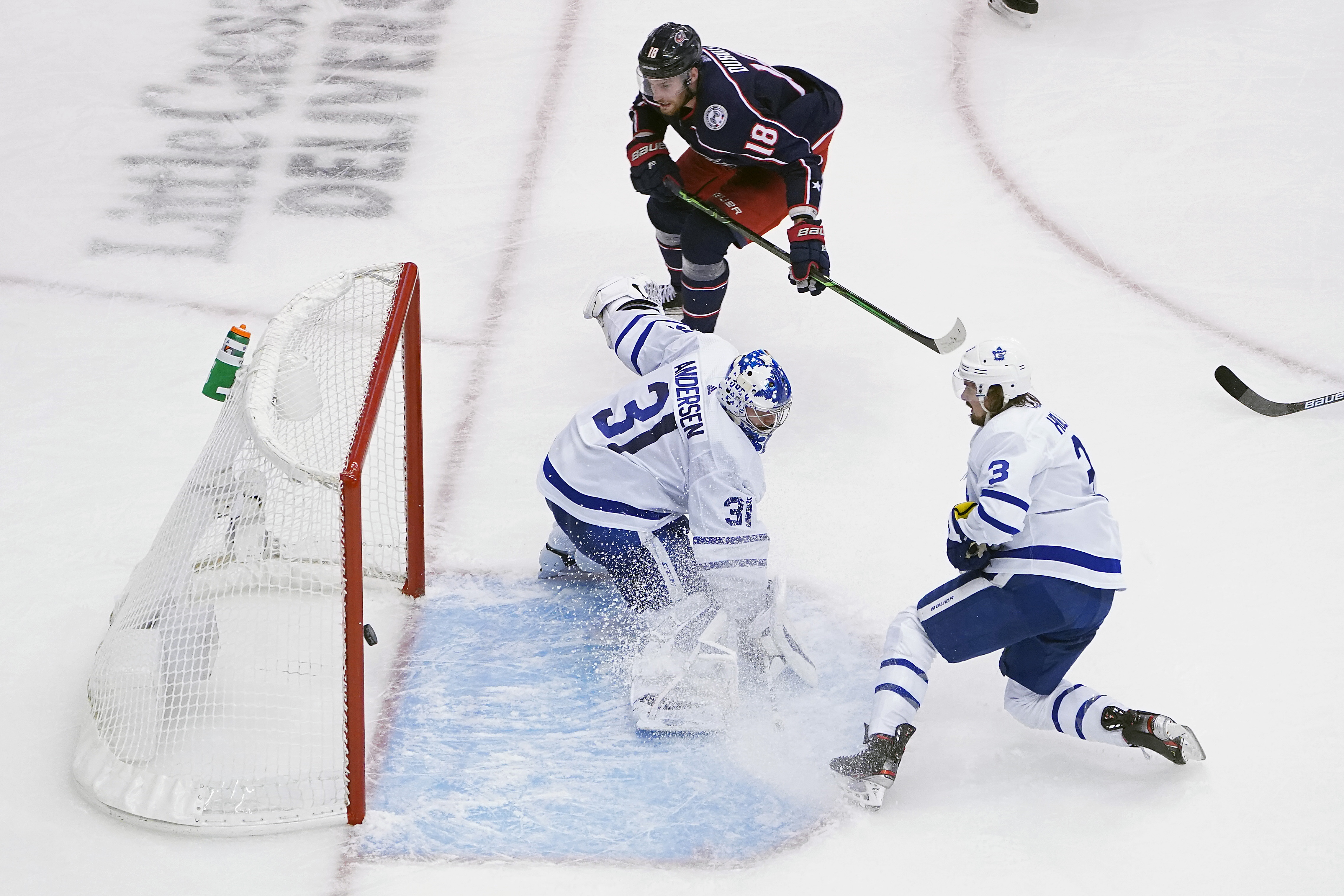 Toronto Maple Leafs Vs Columbus Blue Jackets Free Live Stream 8 7 20 How To Watch Nhl Qualifying Round Time Channel Pennlive Com
