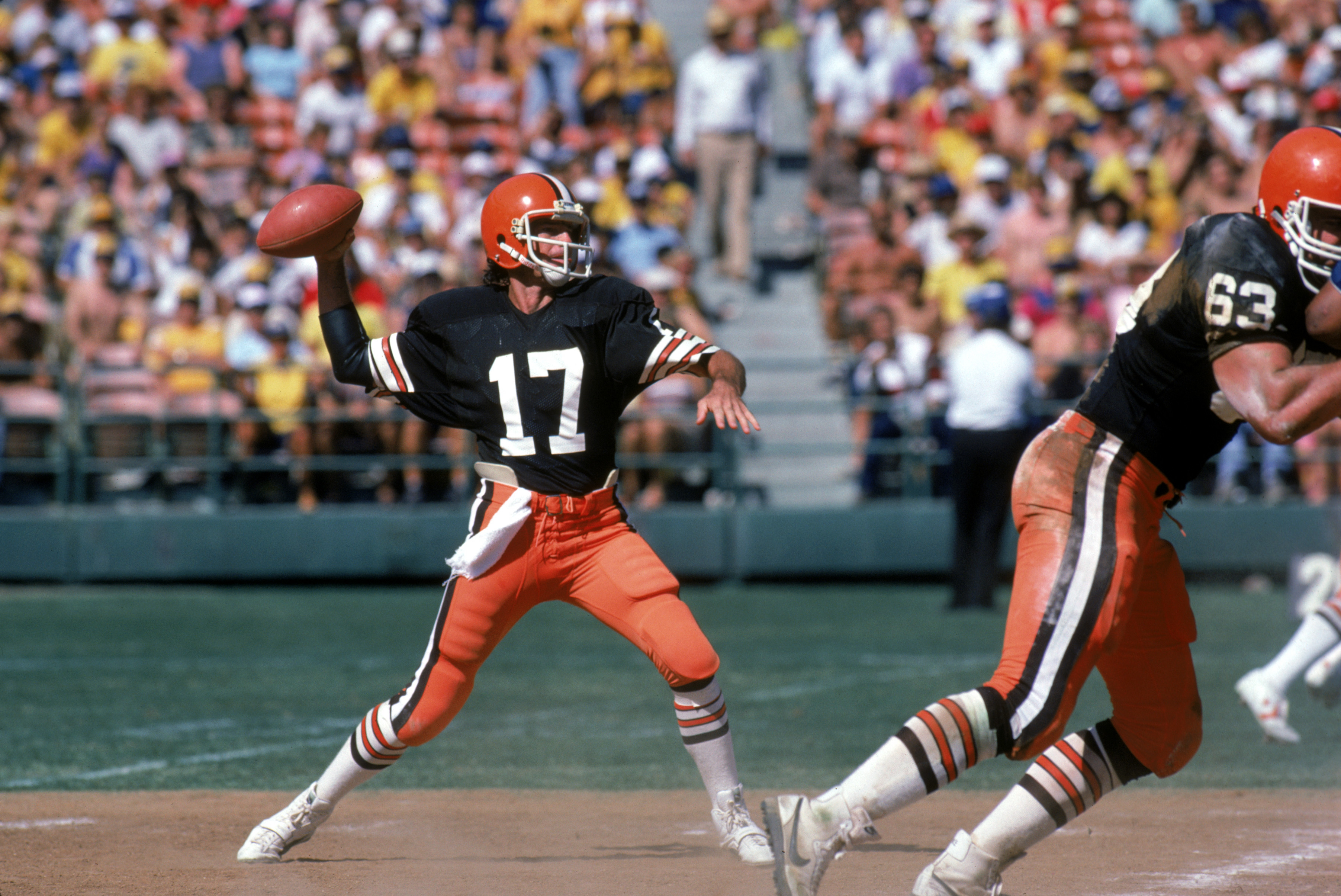 Browns will 'get to work on' adding orange pants to the new ...
