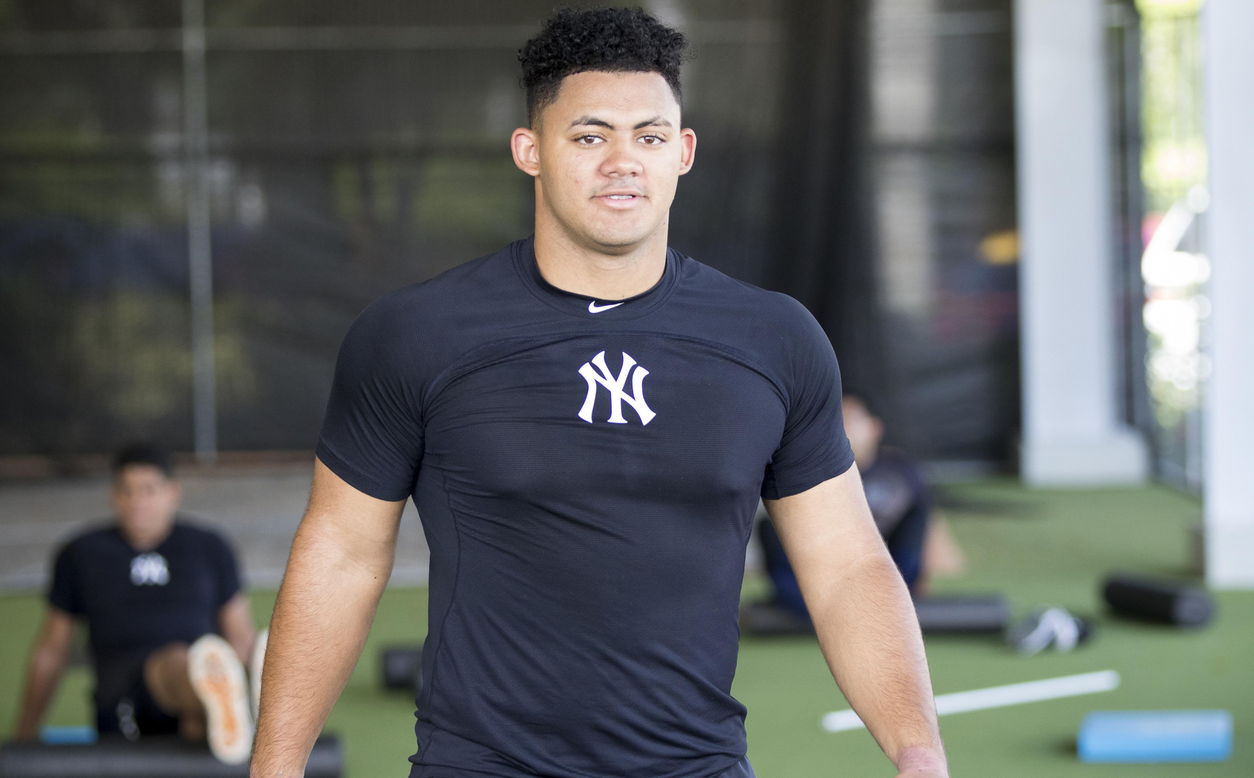 Yankees' top prospect Jasson Dominguez 'more advanced than Mike Trout at  same age' - nj.com