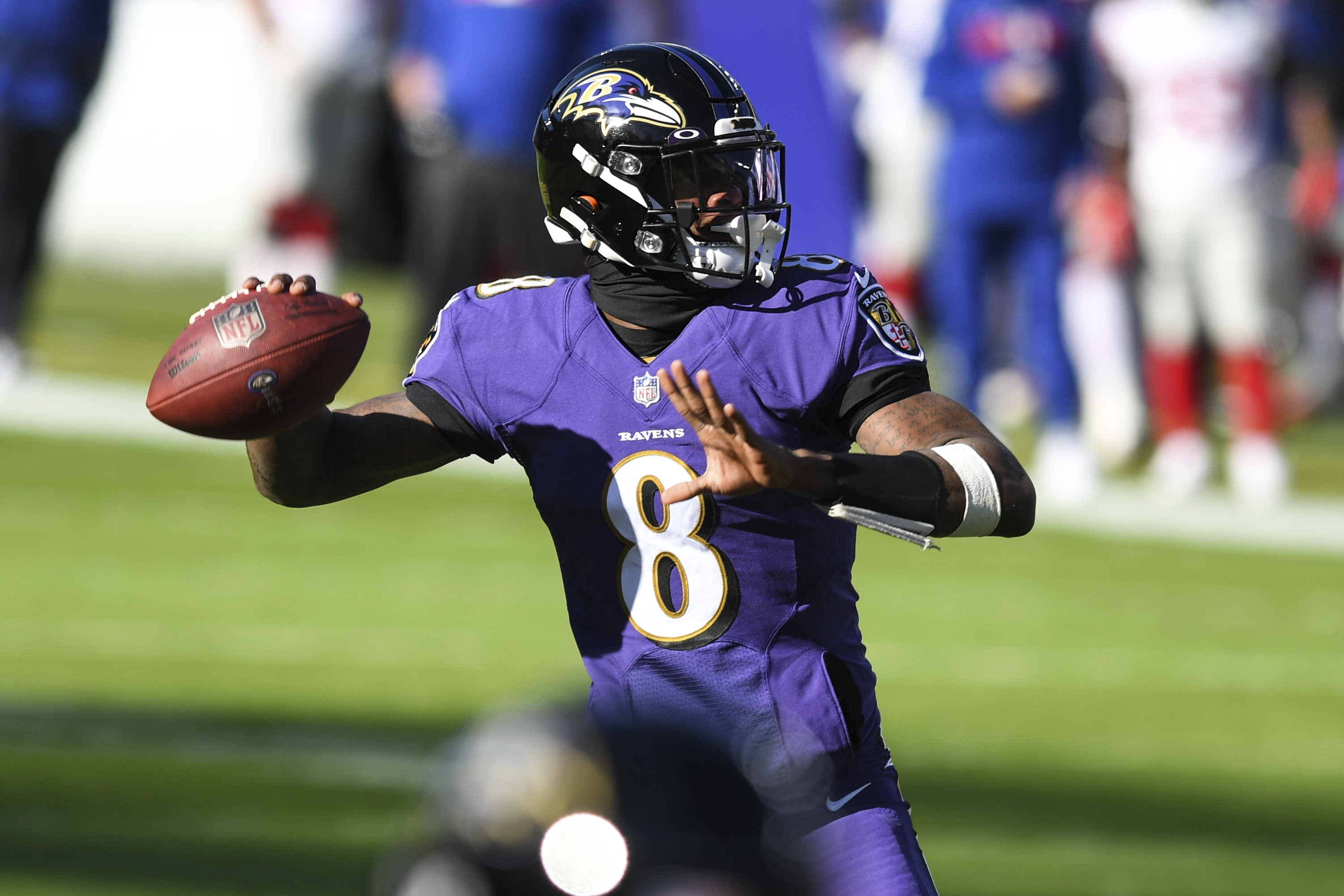 Is Baltimore Ravens QB Lamar Jackson truly 'playing better than anybody in  the league'? - pennlive.com