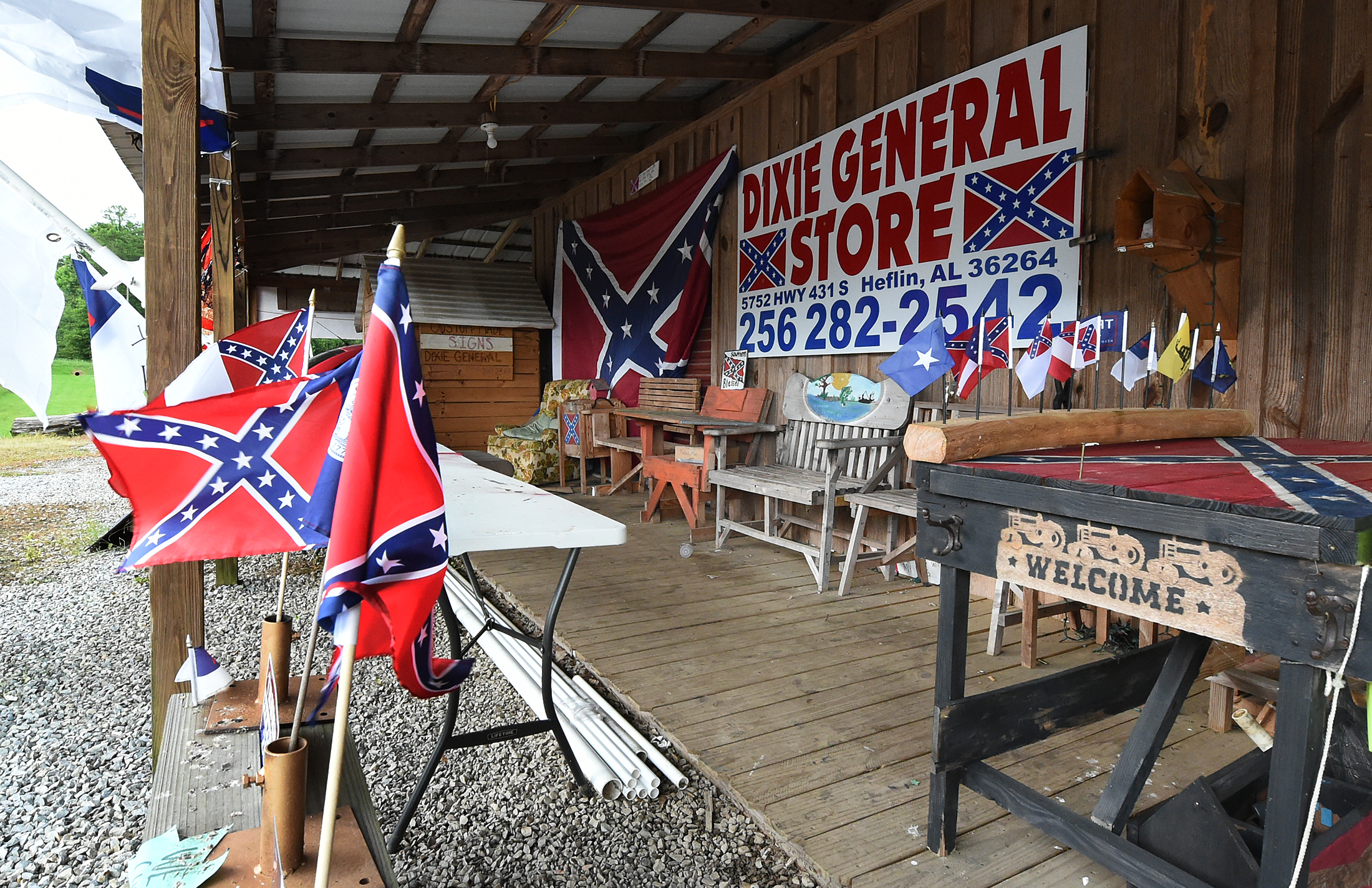 Alabama Confederate Flag Store Draws National Attention Sales Al Com