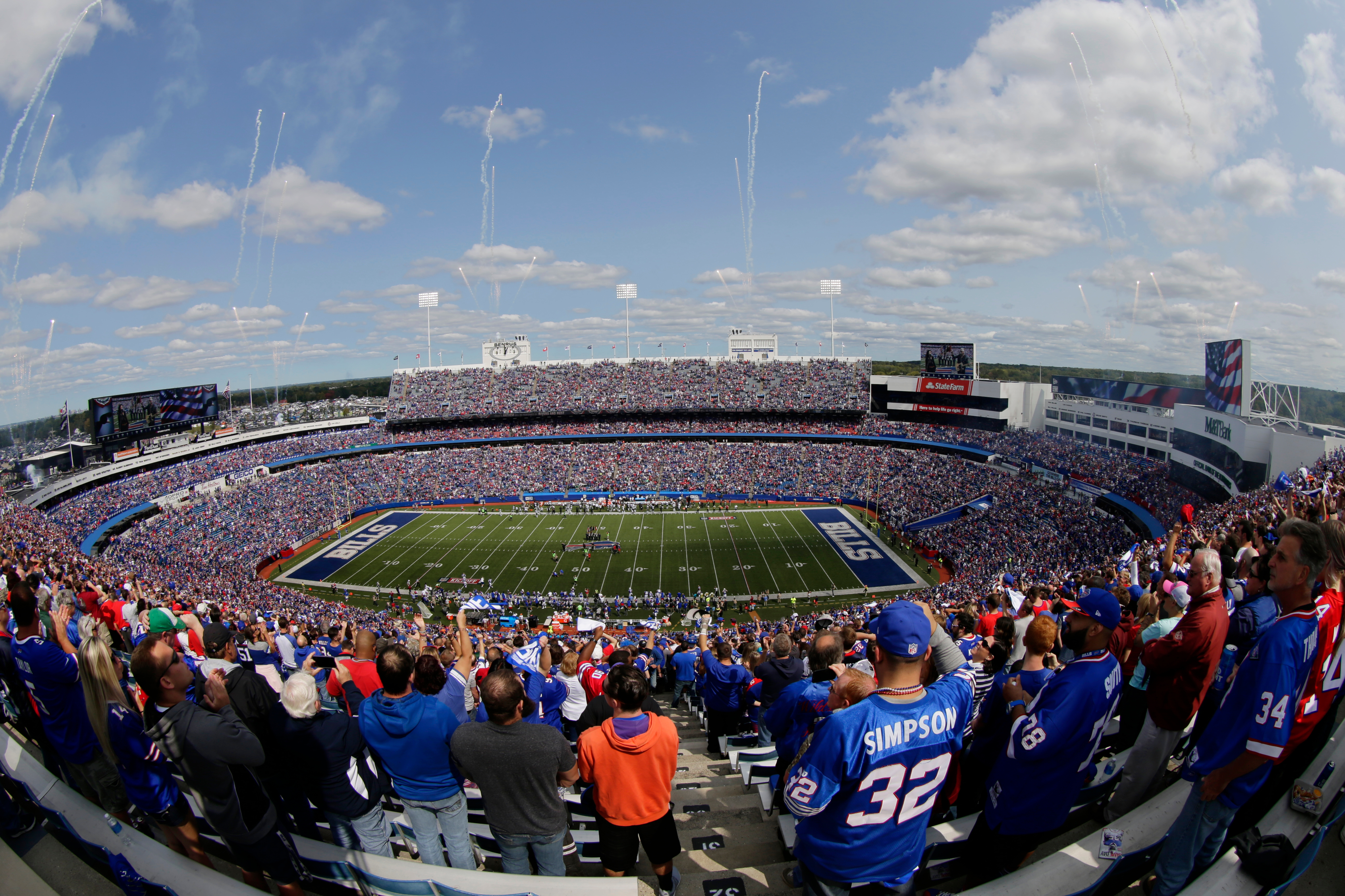 Buffalo Bills Still Planning For Fans At Games If Allowed Update Season Ticket Holders Syracuse Com