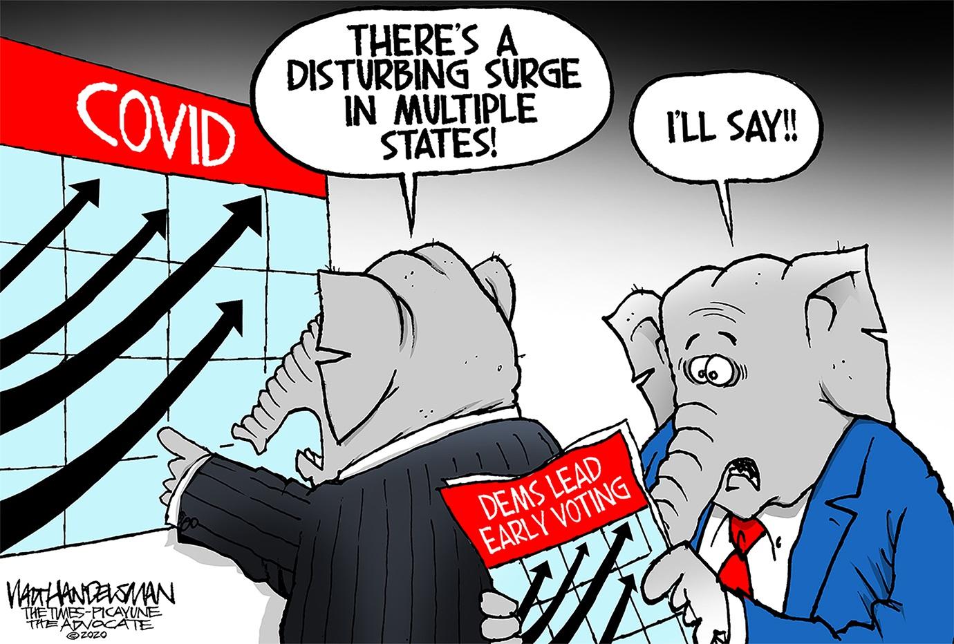 Editorial Cartoons For Oct 25 2020 Presidential Campaign Migrant Kids Hunter Biden Syracuse Com