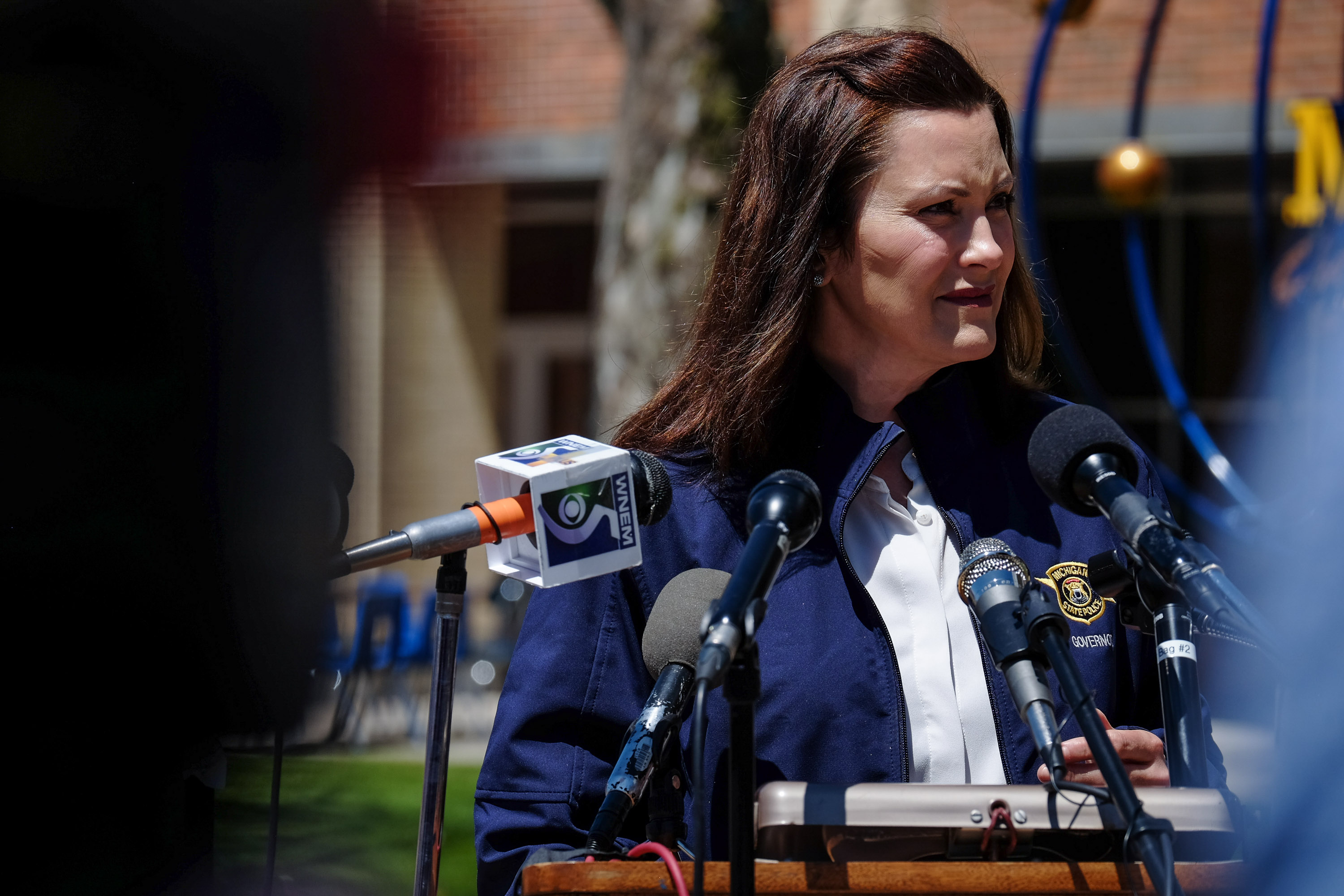 Whitmer Says Husband S Boat Launch Request Was Failed Attempt At Humor Mlive Com