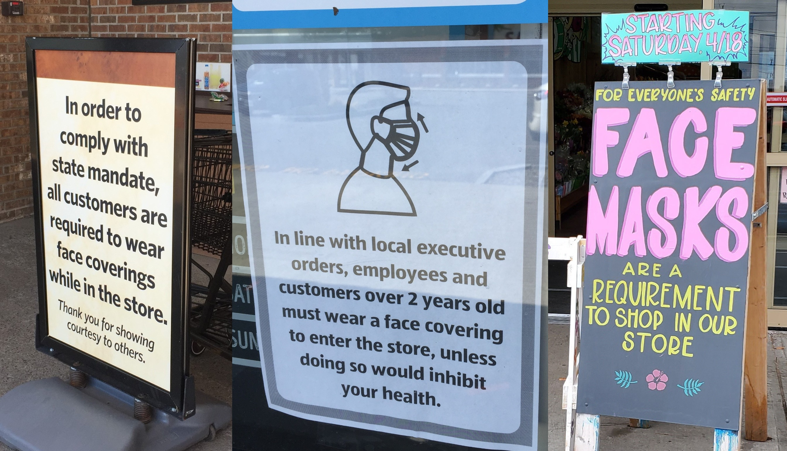 Wegmans, Tops, others want shoppers to wear masks, but won't ban ...