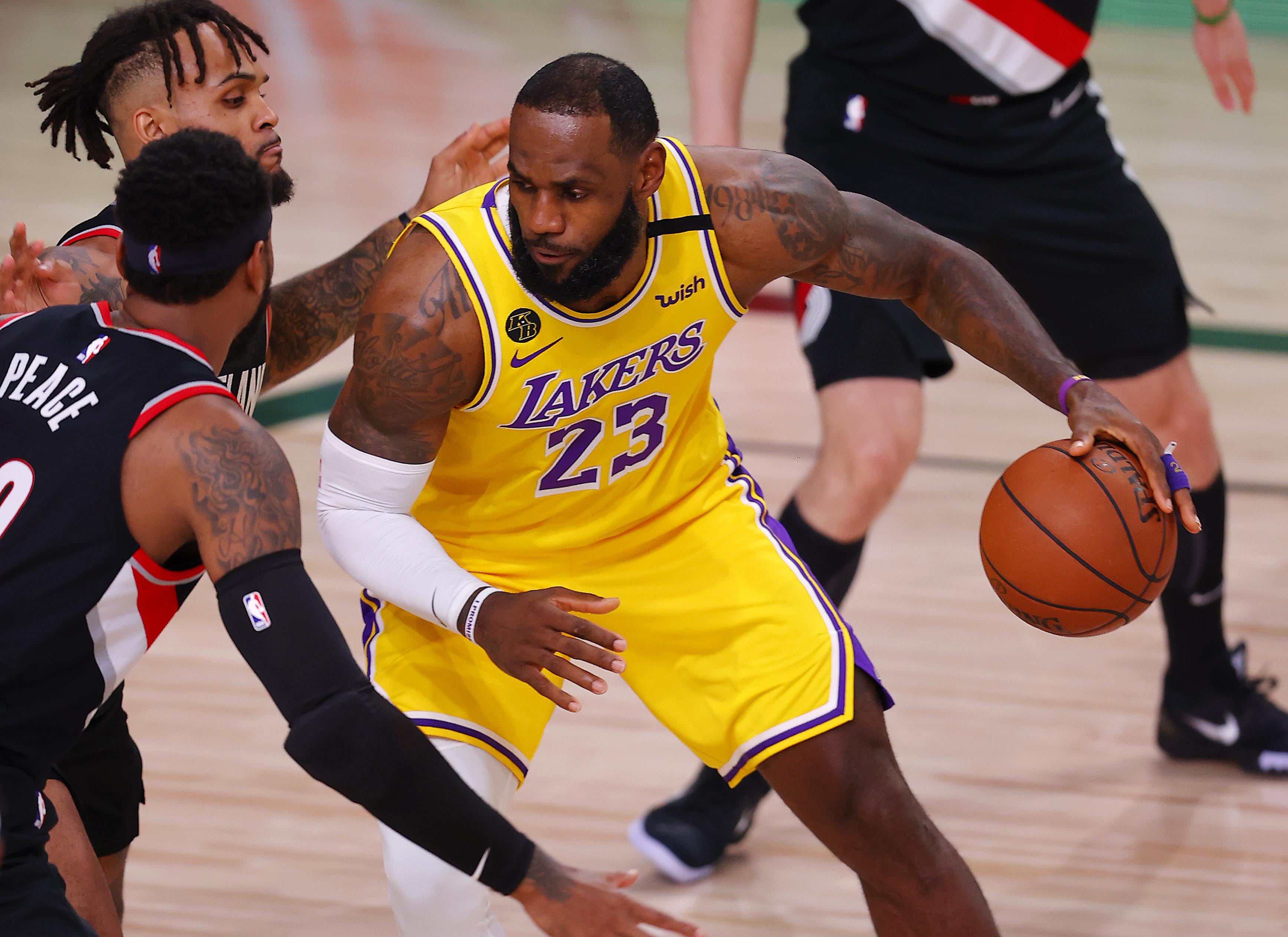 Los Angeles Lakers vs. Portland Trail Blazers free live stream (8 ...