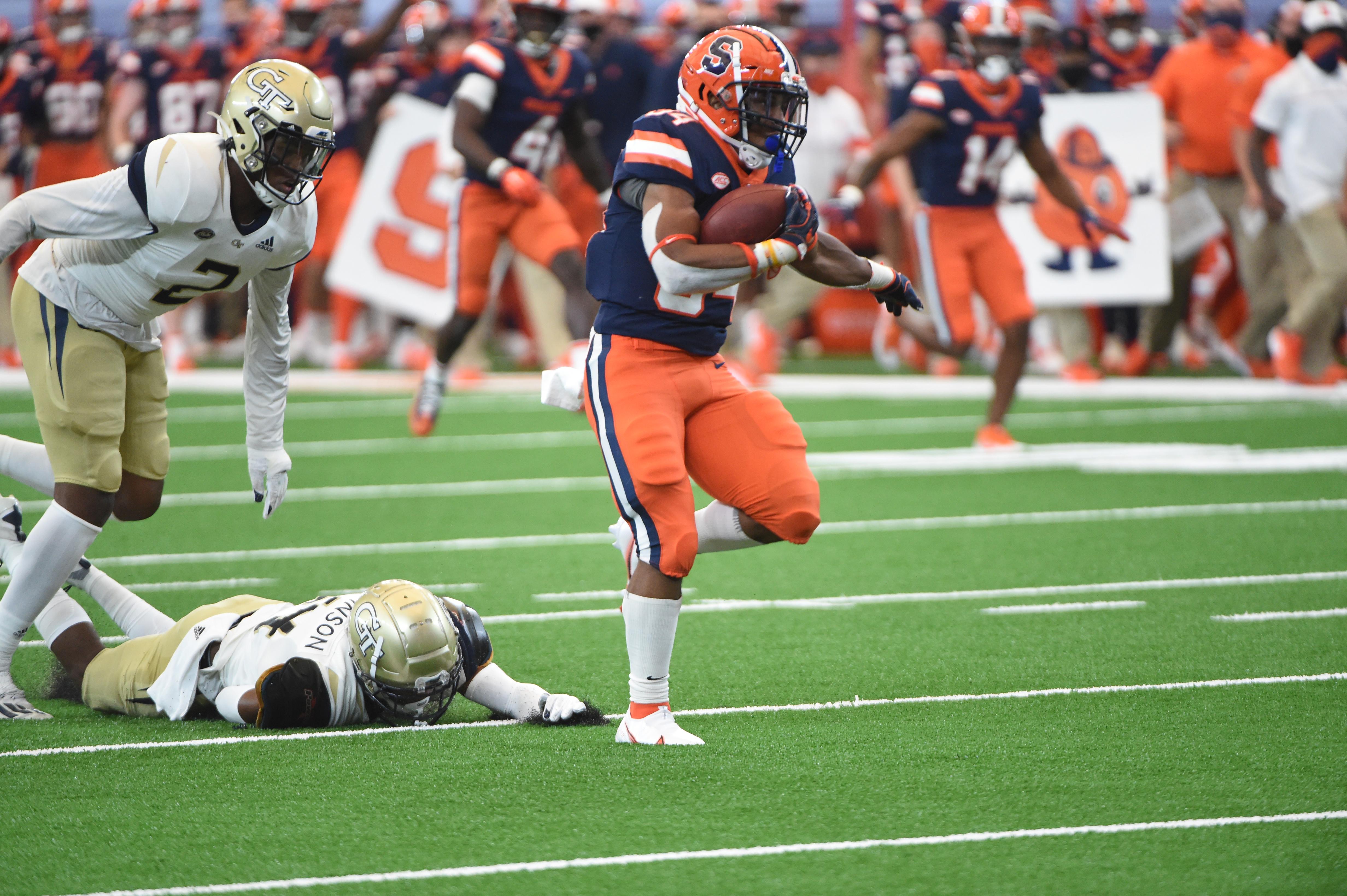 Syracuse Football Box Score Vs Georgia Tech Syracuse Com