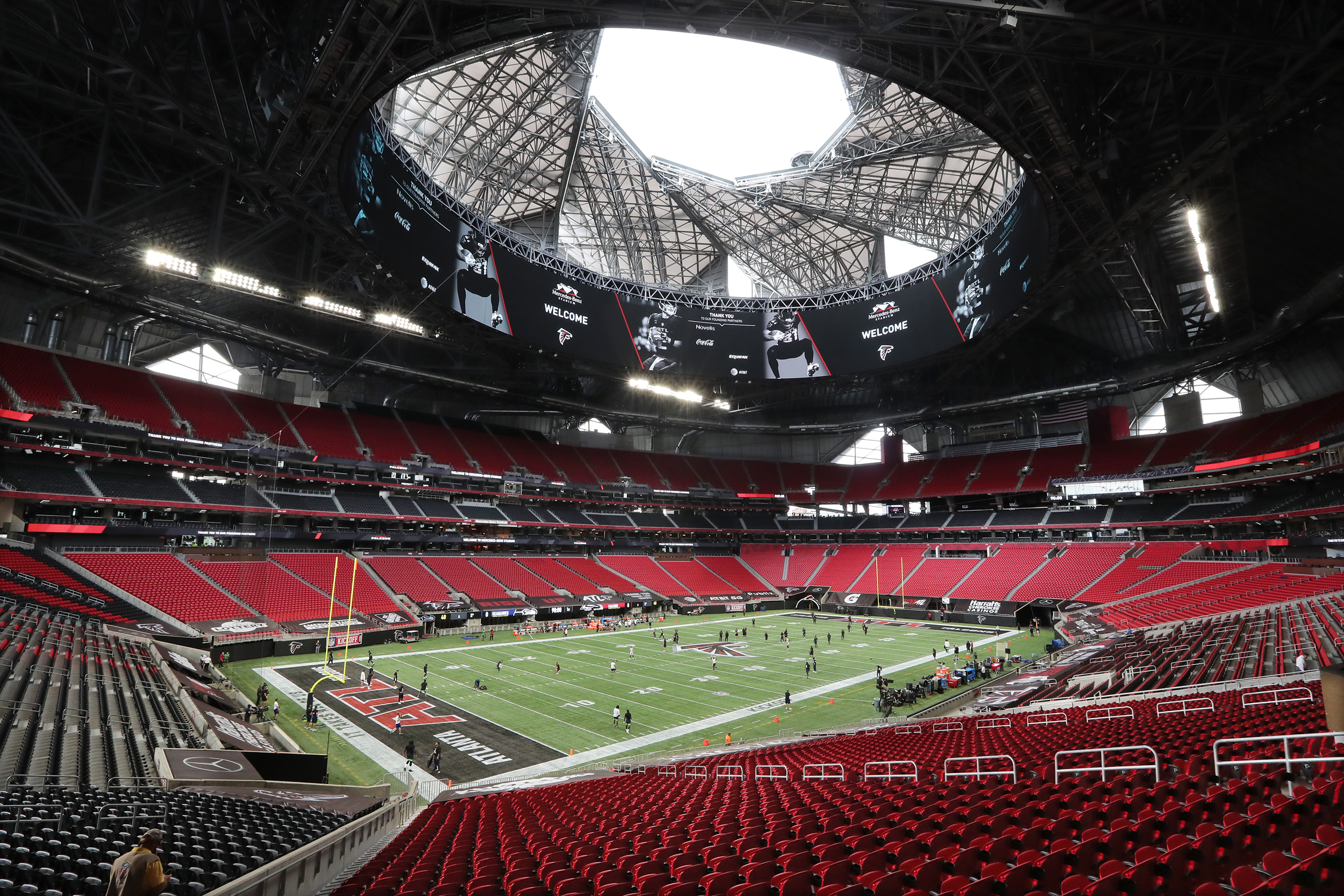 Scene At Falcons Opener Sadly Unlike Any Other