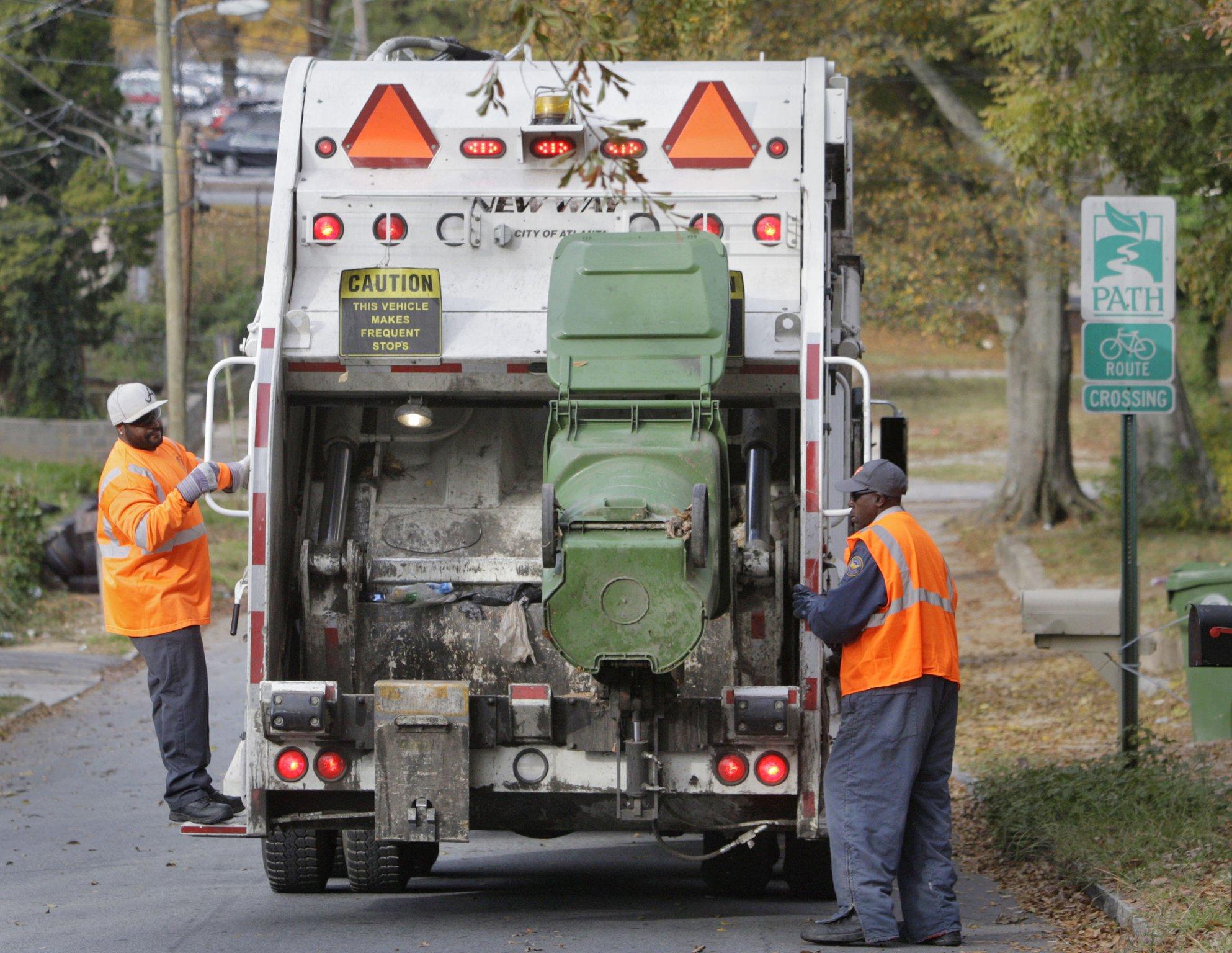 2021 Roswell Garbage Pickup Christmas Weekend Atlanta Trash Pickup Shifts For Christmas New Year S Holidays